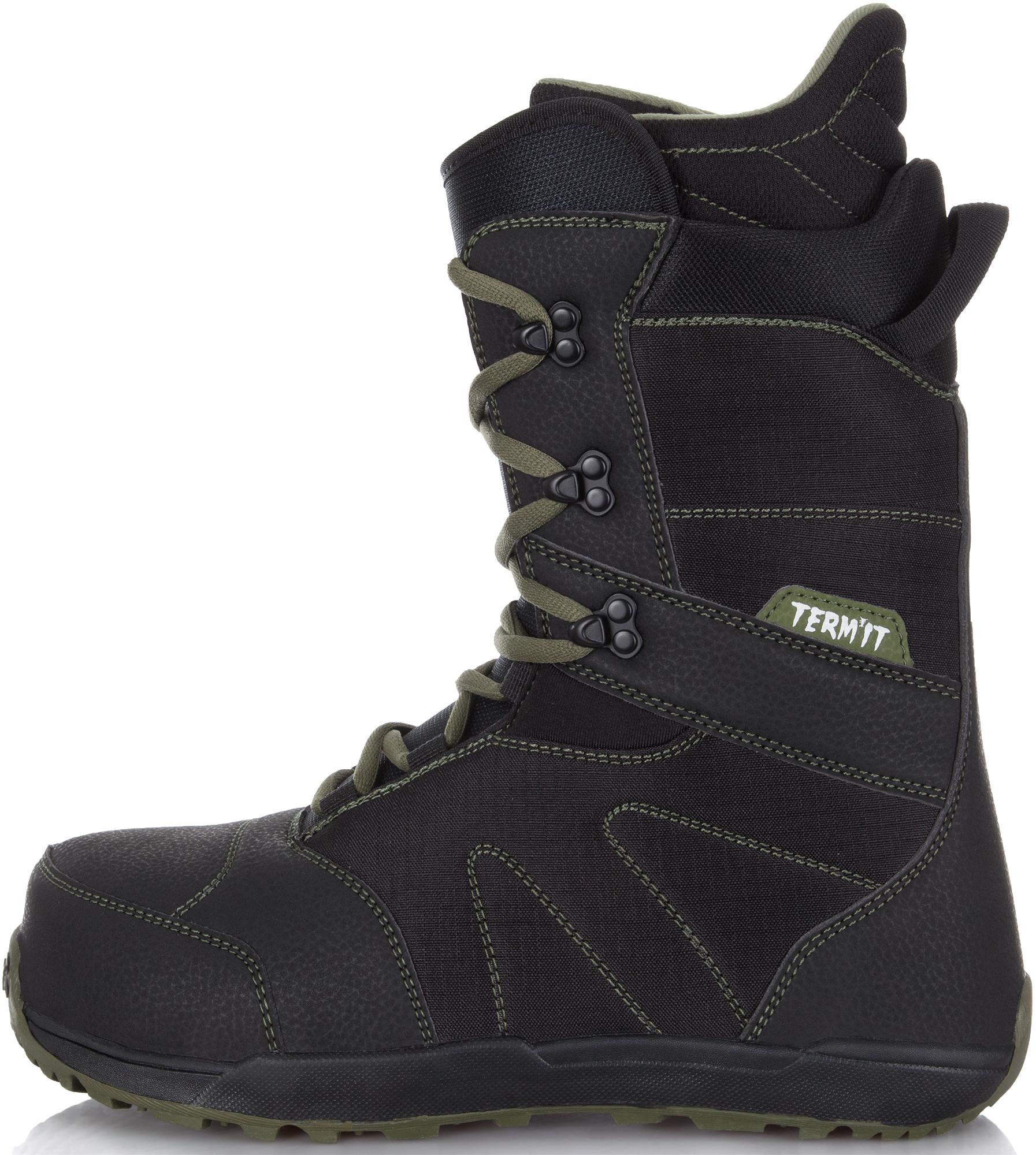 Termit Сноубордические ботинки Termit Symbol, размер 42,5 сноубордические ботинки black fire splady 16 17 splady размер 37