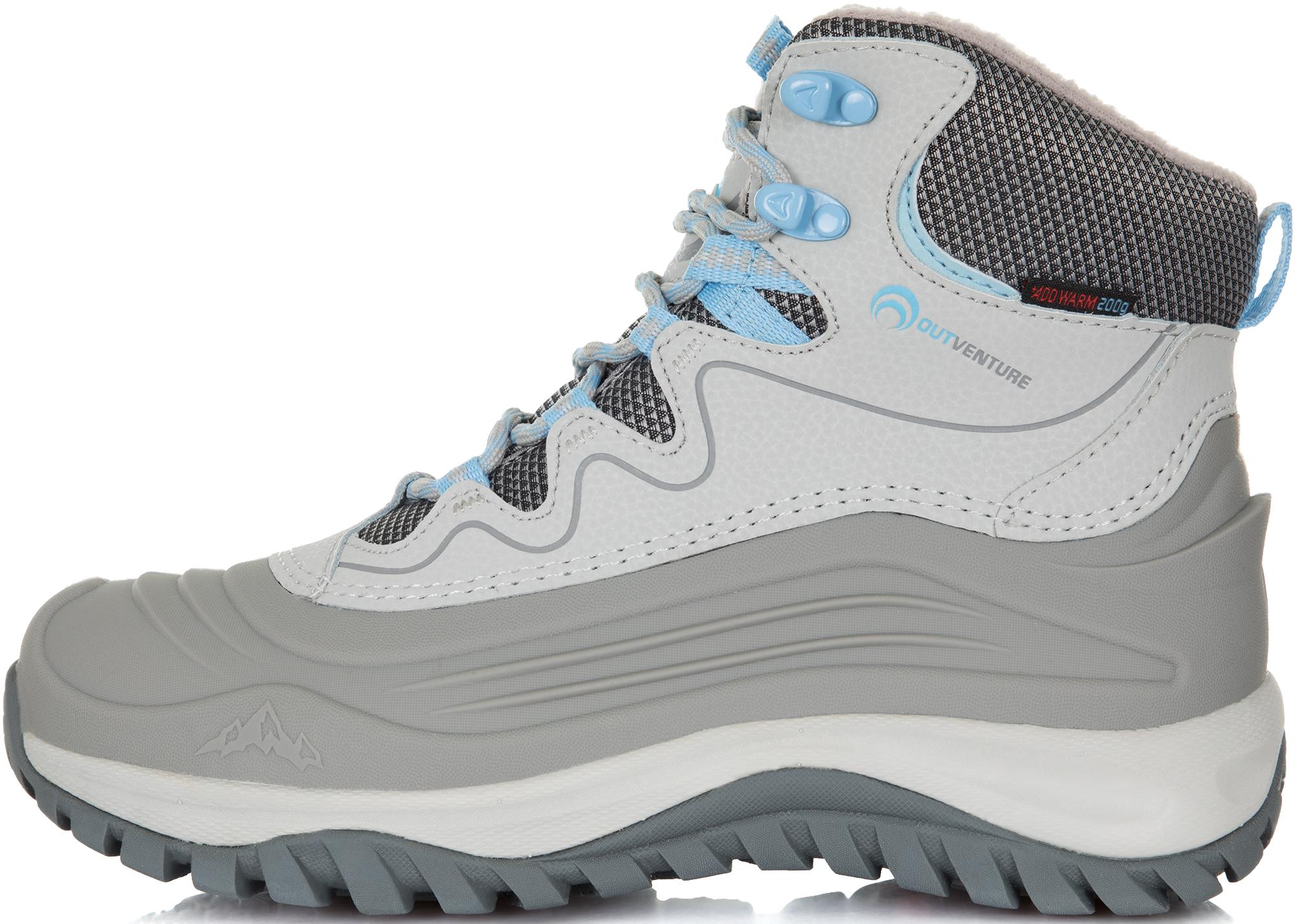 Outventure Ботинки утепленные женские Outventure Frostflower, размер 41 outventure ботинки утепленные для мальчиков outventure