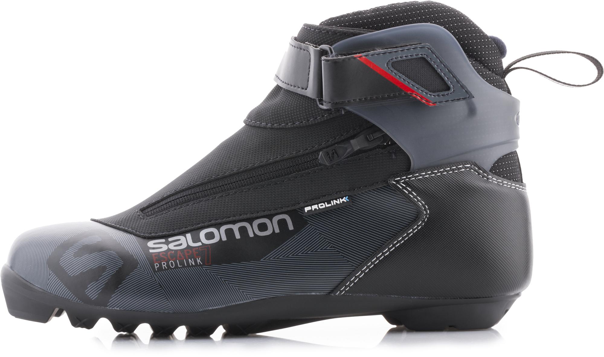 Salomon Ботинки для беговых лыж Salomon Escape 7 Prolink, размер 46,5 salomon ботинки для беговых лыж женские salomon siam 7 prolink