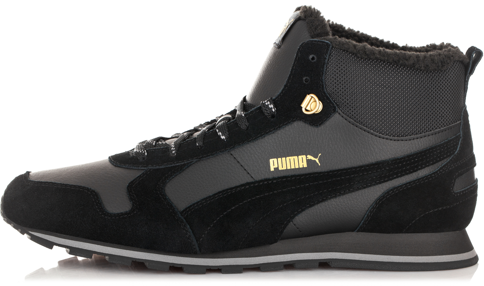 Puma Кроссовки мужские  ST Runner Mid Fur, размер 46