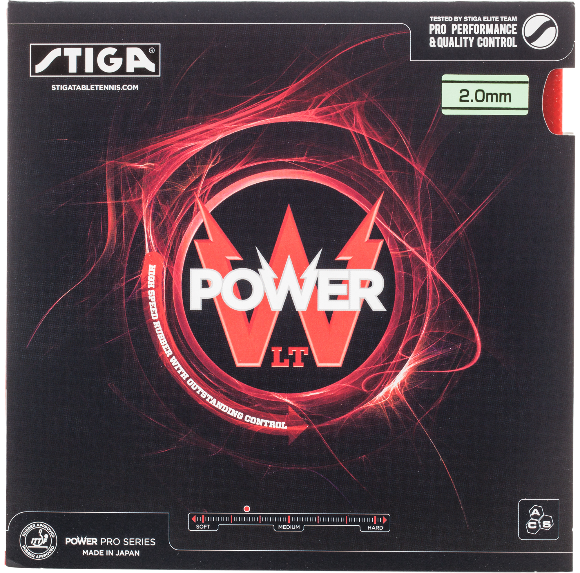 Stiga Накладка для настольного тенниса Stiga Power LT