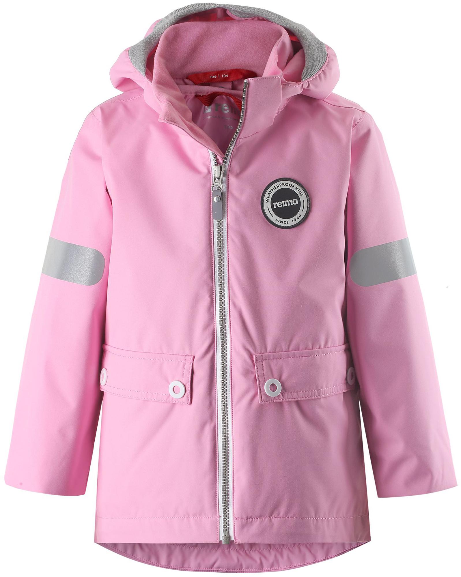 Reima Куртка утепленная для девочек Reima Sydvest, размер 122 reima толстовка для девочек reima haiko размер 146