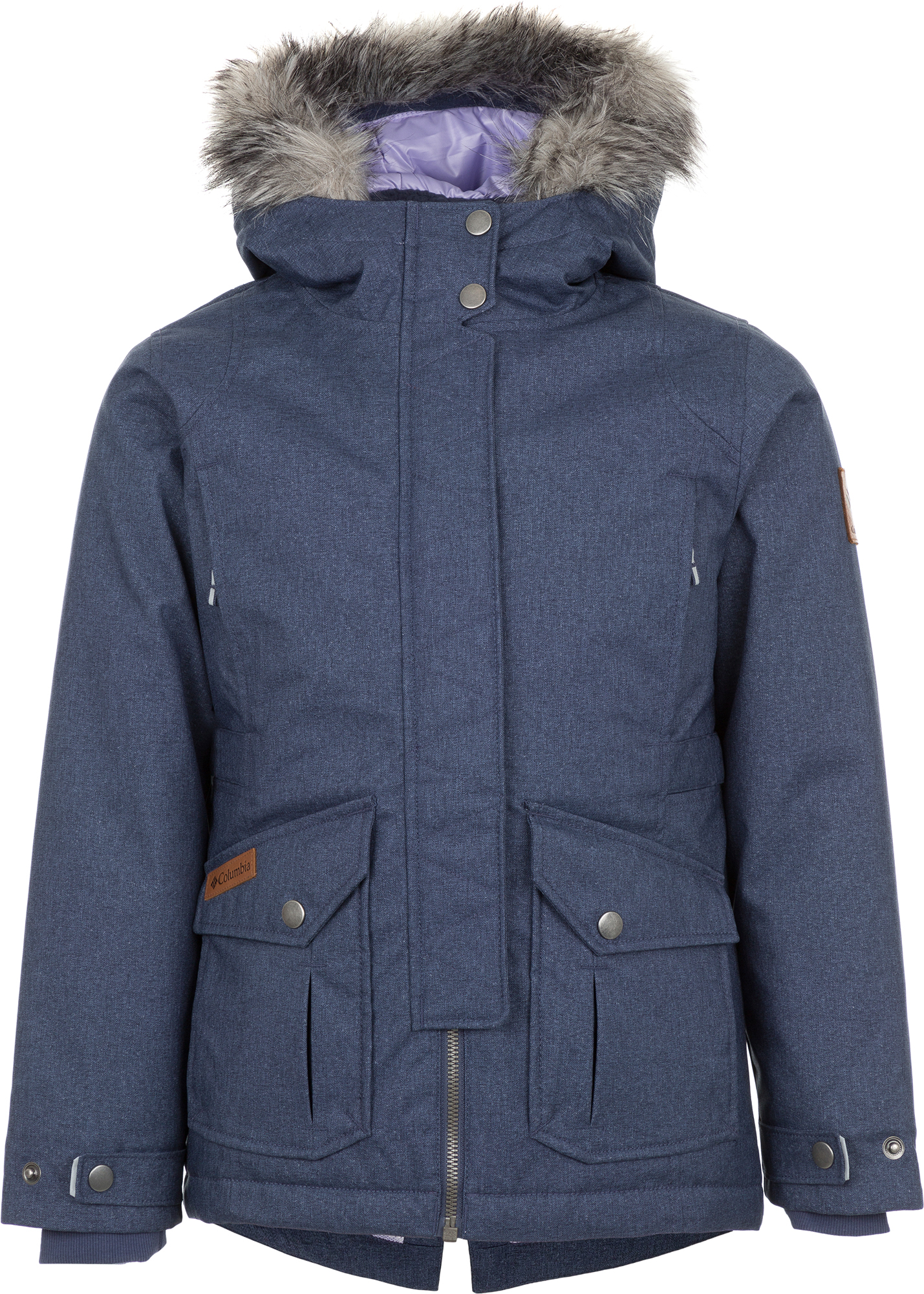 Columbia Куртка утепленная для девочек Columbia Barlow Pass 600 TurboDown, размер 150-157 куртка утепленная columbia columbia co214ewcpqd3
