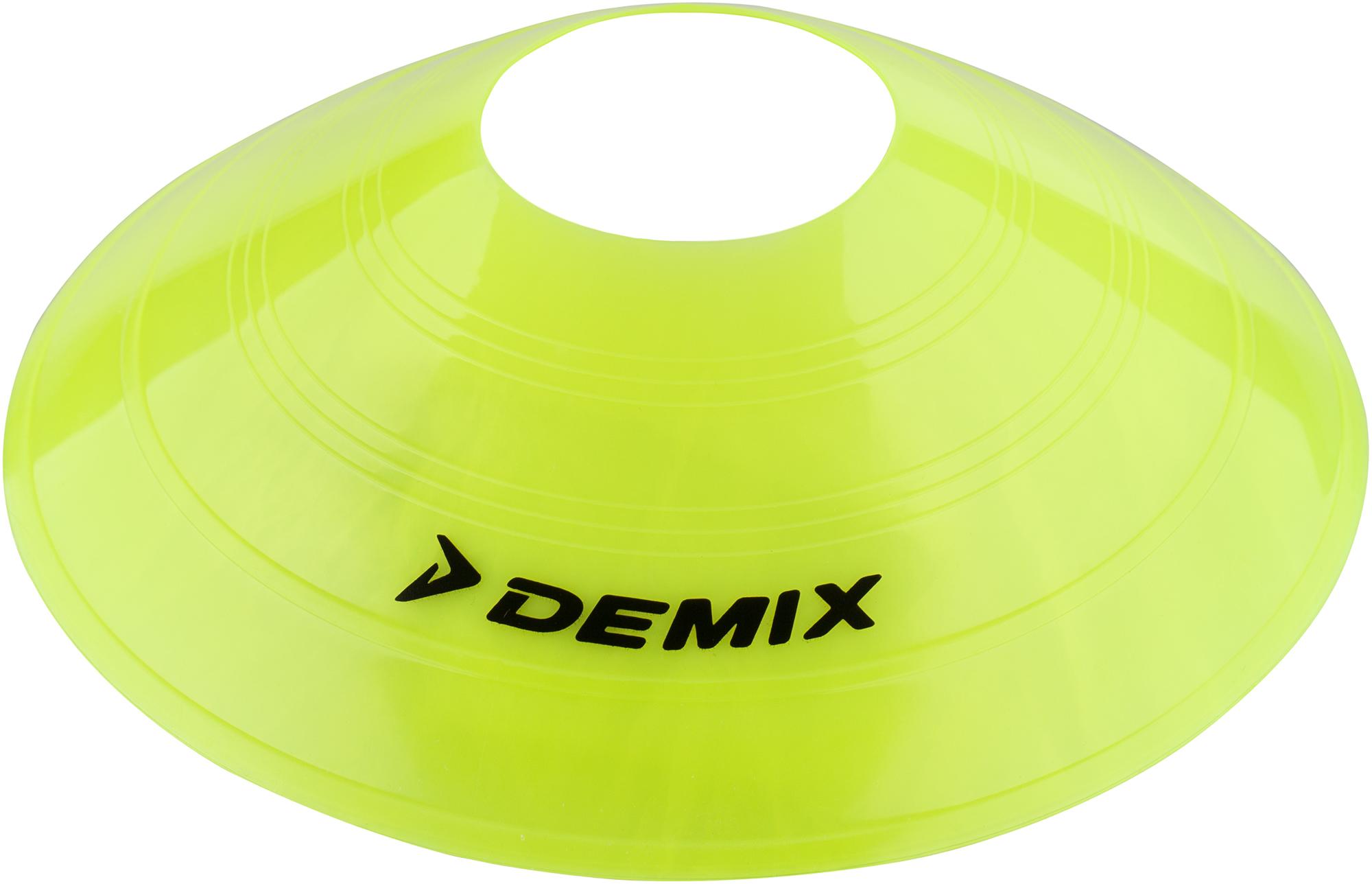 Demix Набор для футбола: фишки разметки поля Demix, 10 шт.
