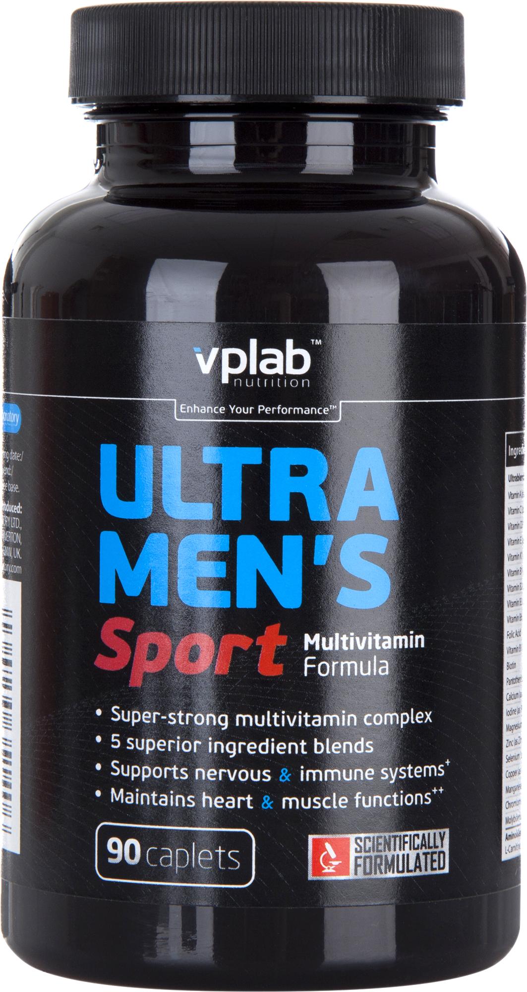 Vplab nutrition Мужской спортивный витаминно-минеральный комплекс Vplab nutrition стоимость