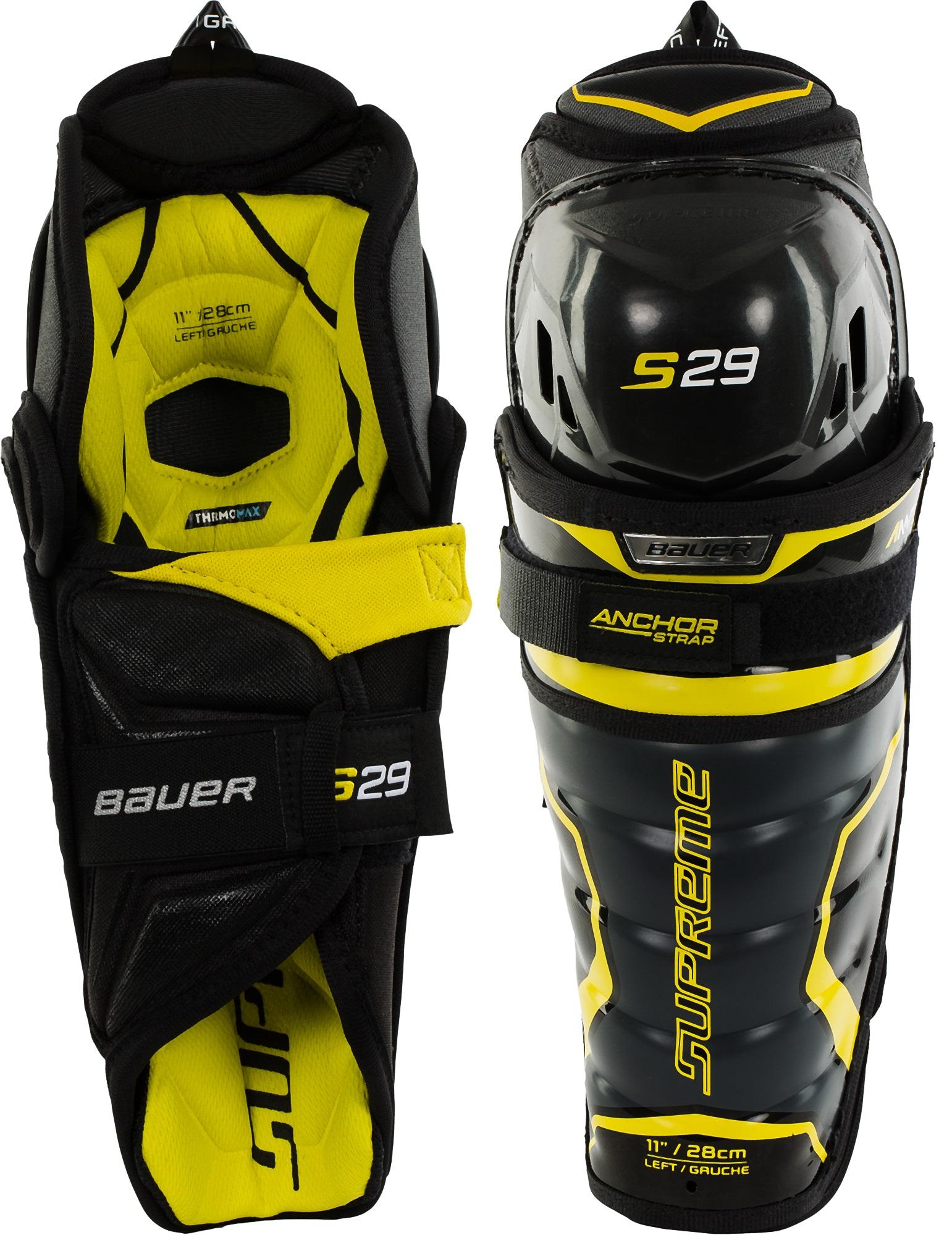 Bauer Щитки хоккейные подростковые Supreme S29