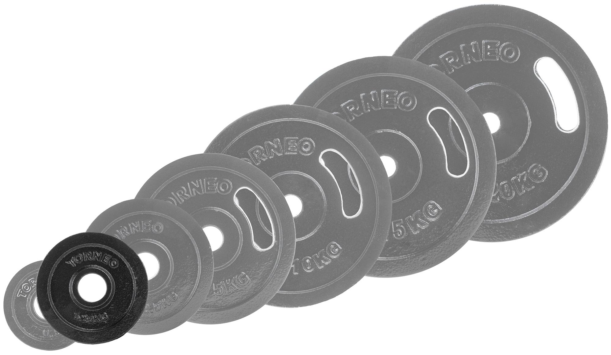 Torneo Блин Torneo стальной 1,25 кг