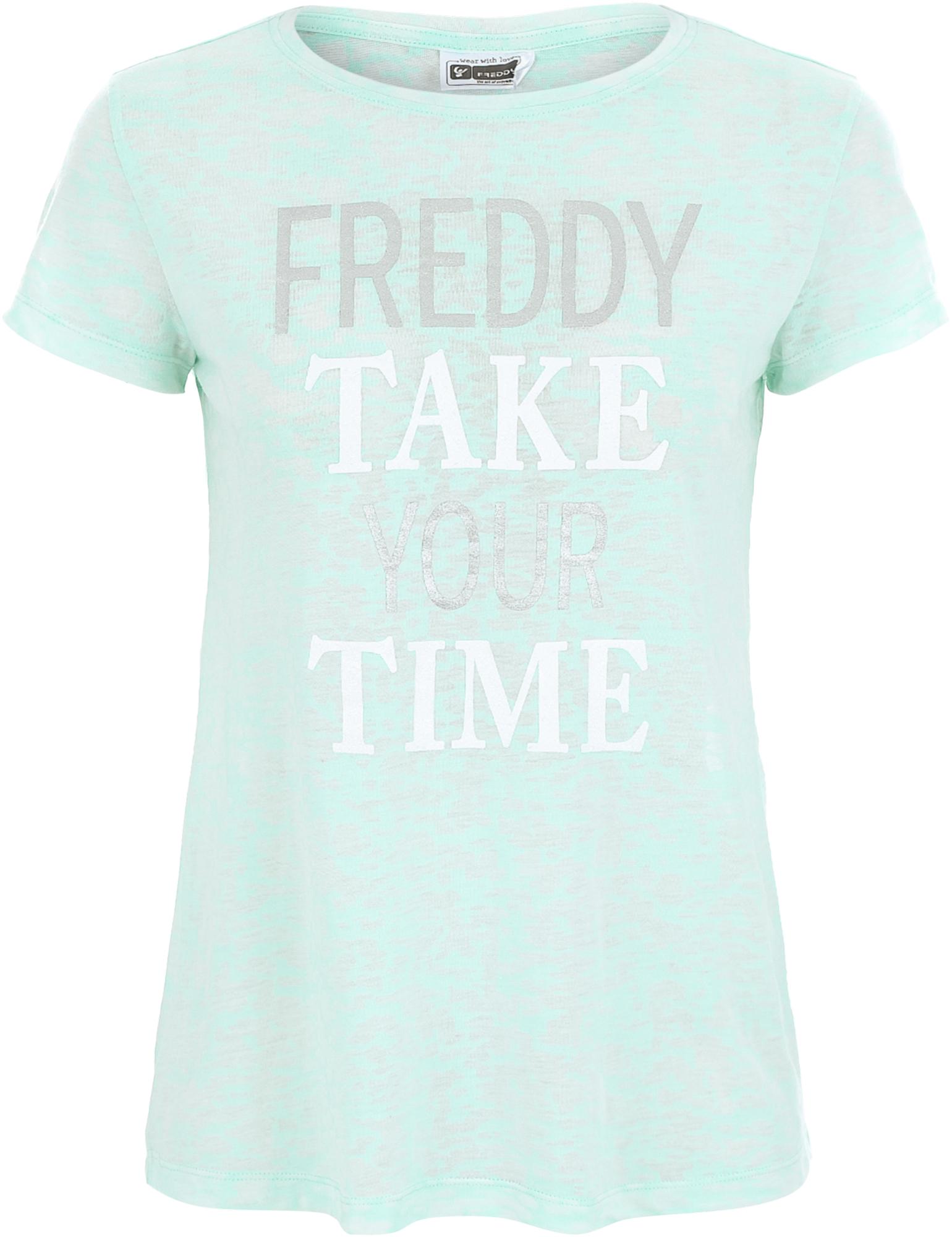Freddy Футболка женская Freddy College, размер 48-50 недорго, оригинальная цена