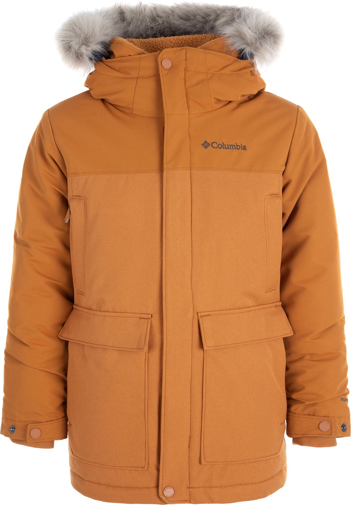 цена на Columbia Куртка пуховая для мальчиков Columbia Boundary Bay, размер 159-167