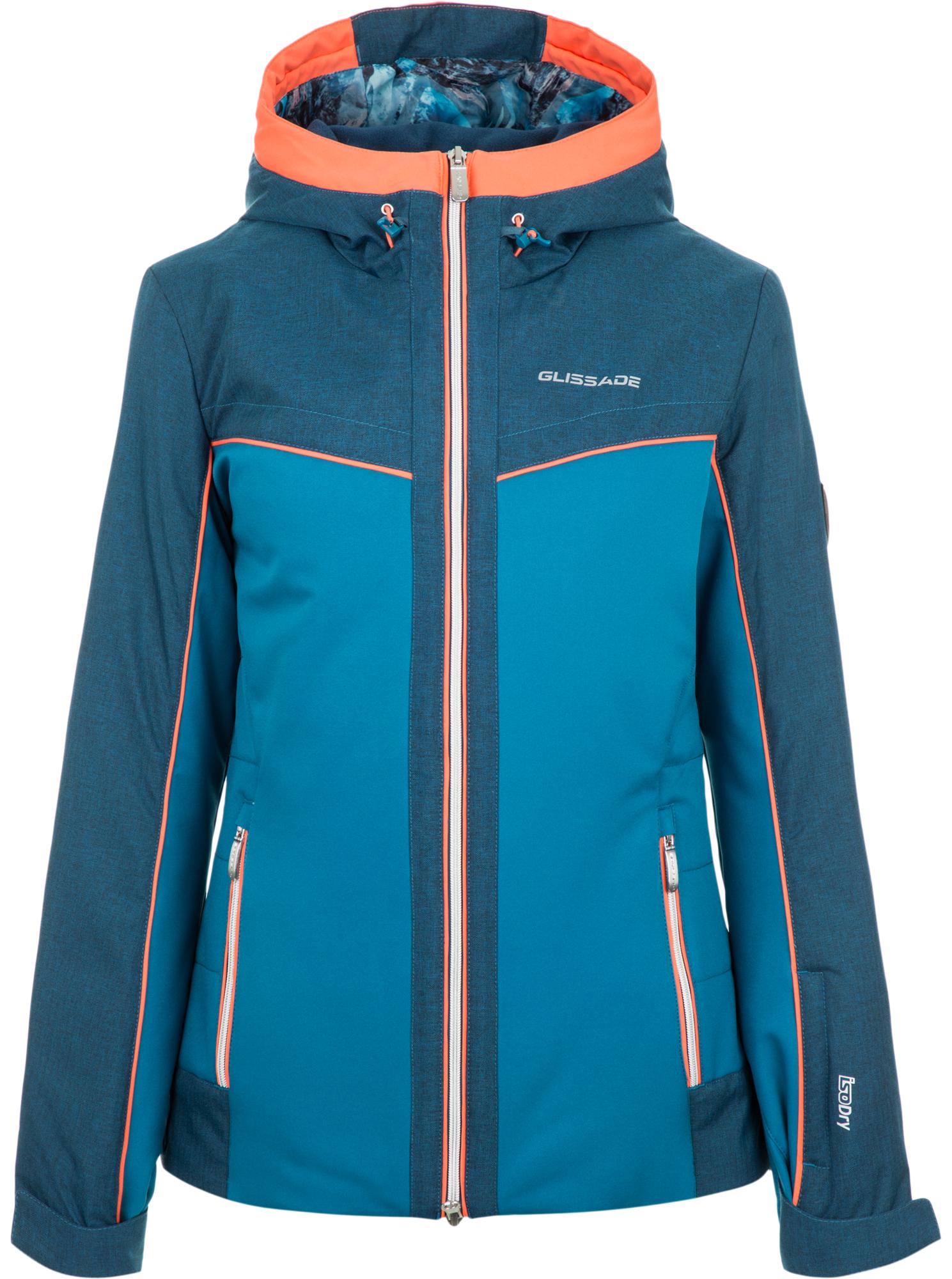 Glissade Куртка утепленная женская Glissade, размер 42