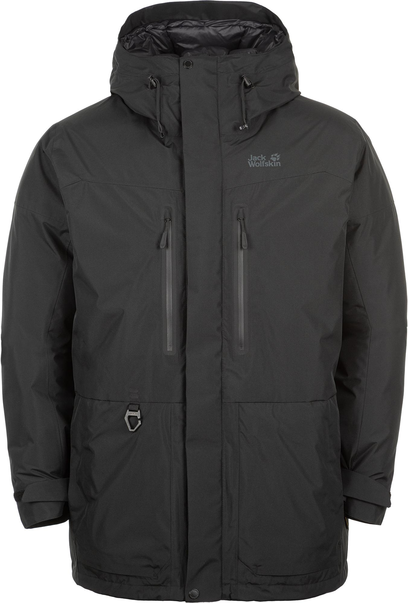 Jack Wolfskin Куртка пуховая мужская North Ice, размер 58
