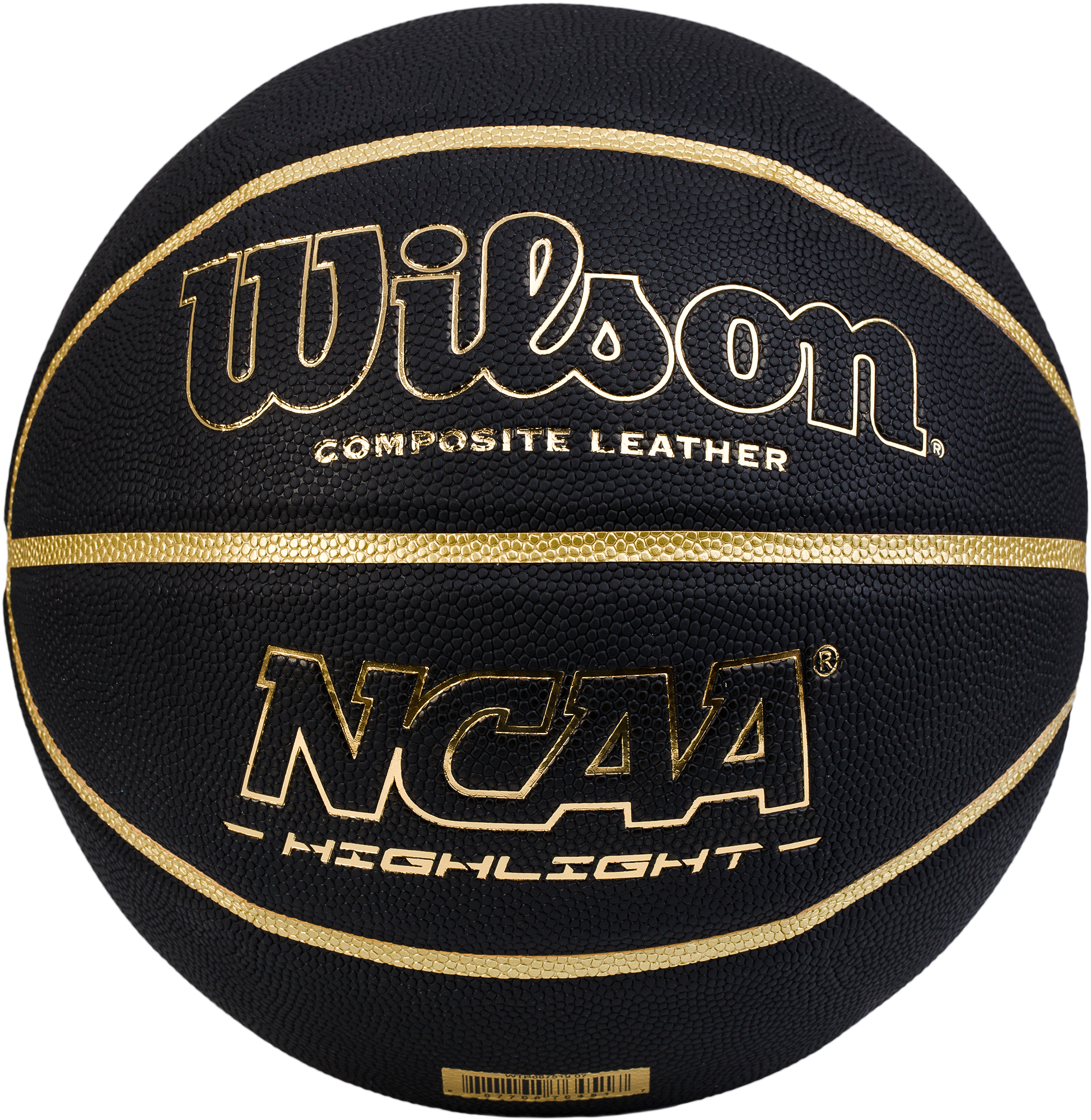 Wilson Мяч баскетбольный WilsonNCAA HIGHLIGHT GOLD