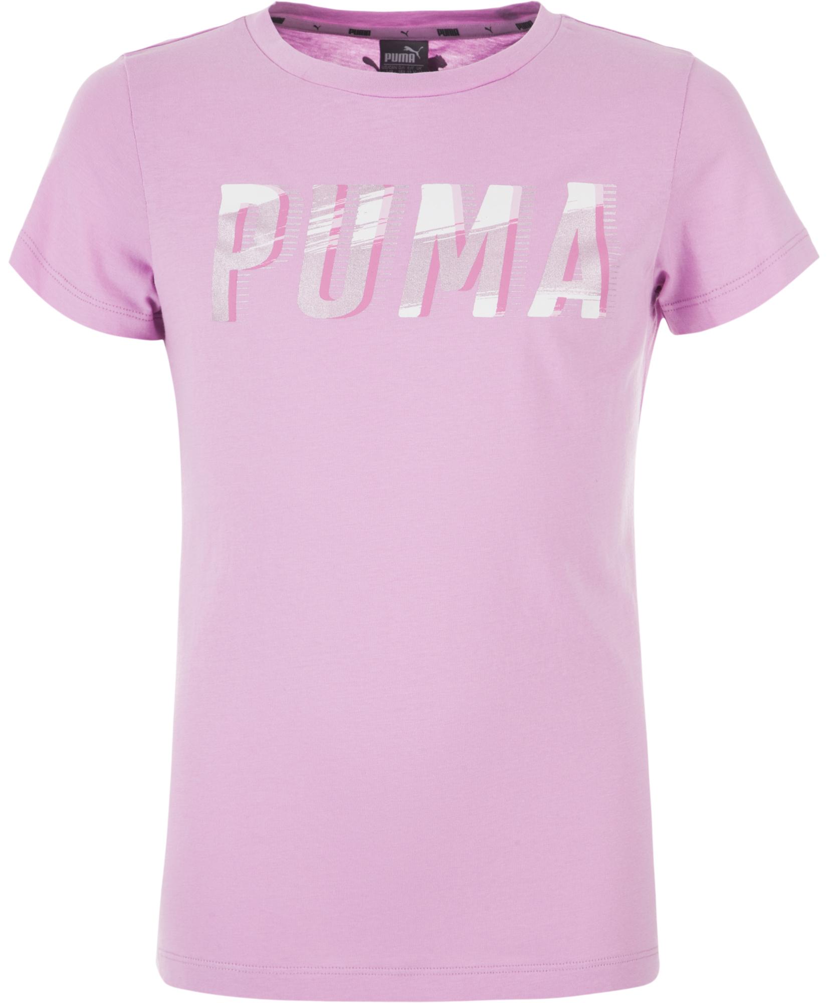 Puma Футболка для девочек Puma Style Graphic, размер 152 стоимость