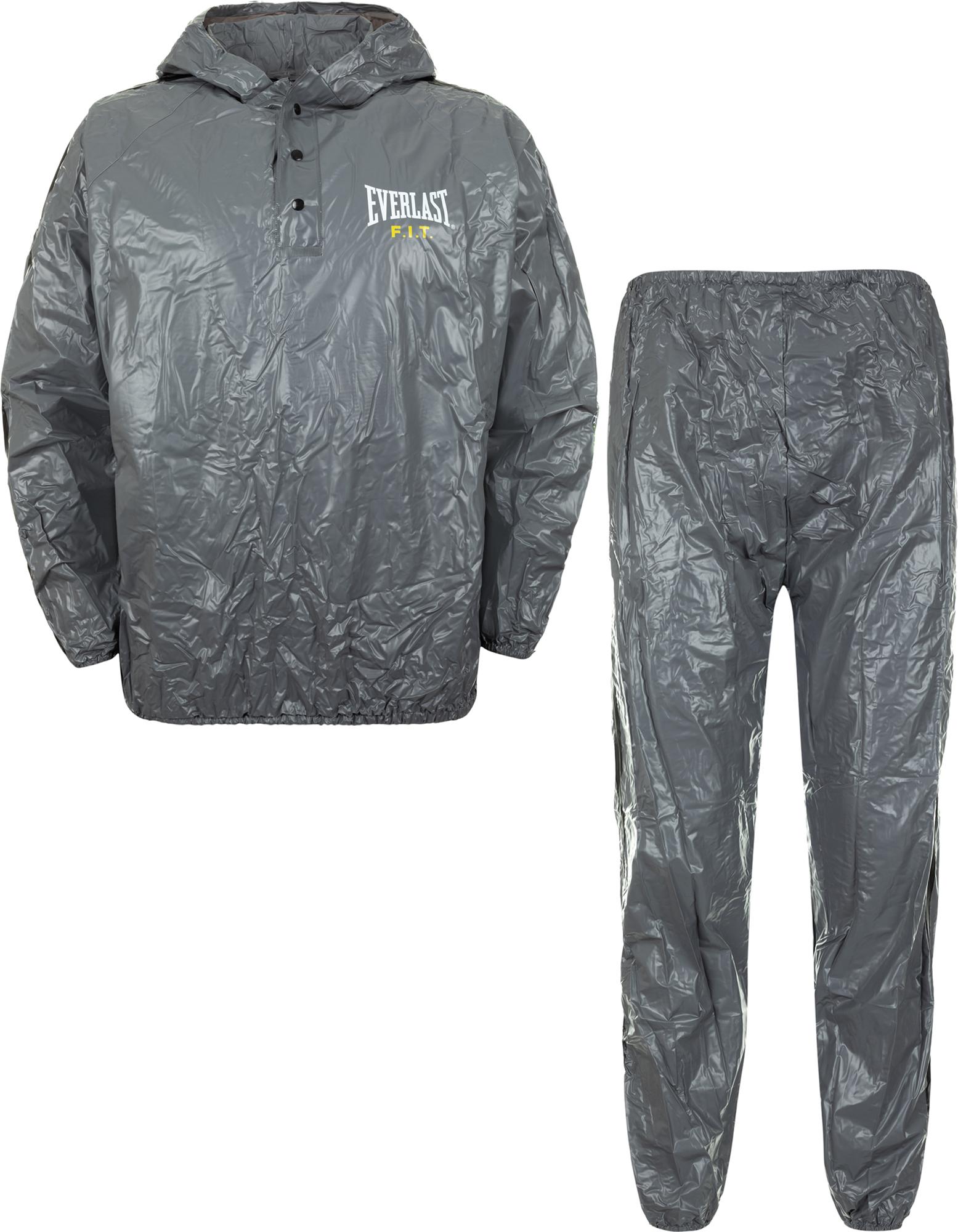 Everlast Костюм сауна с капюшоном Everlast, размер XL/XXL костюм демисезонный norfin pro light blue 05 xxl