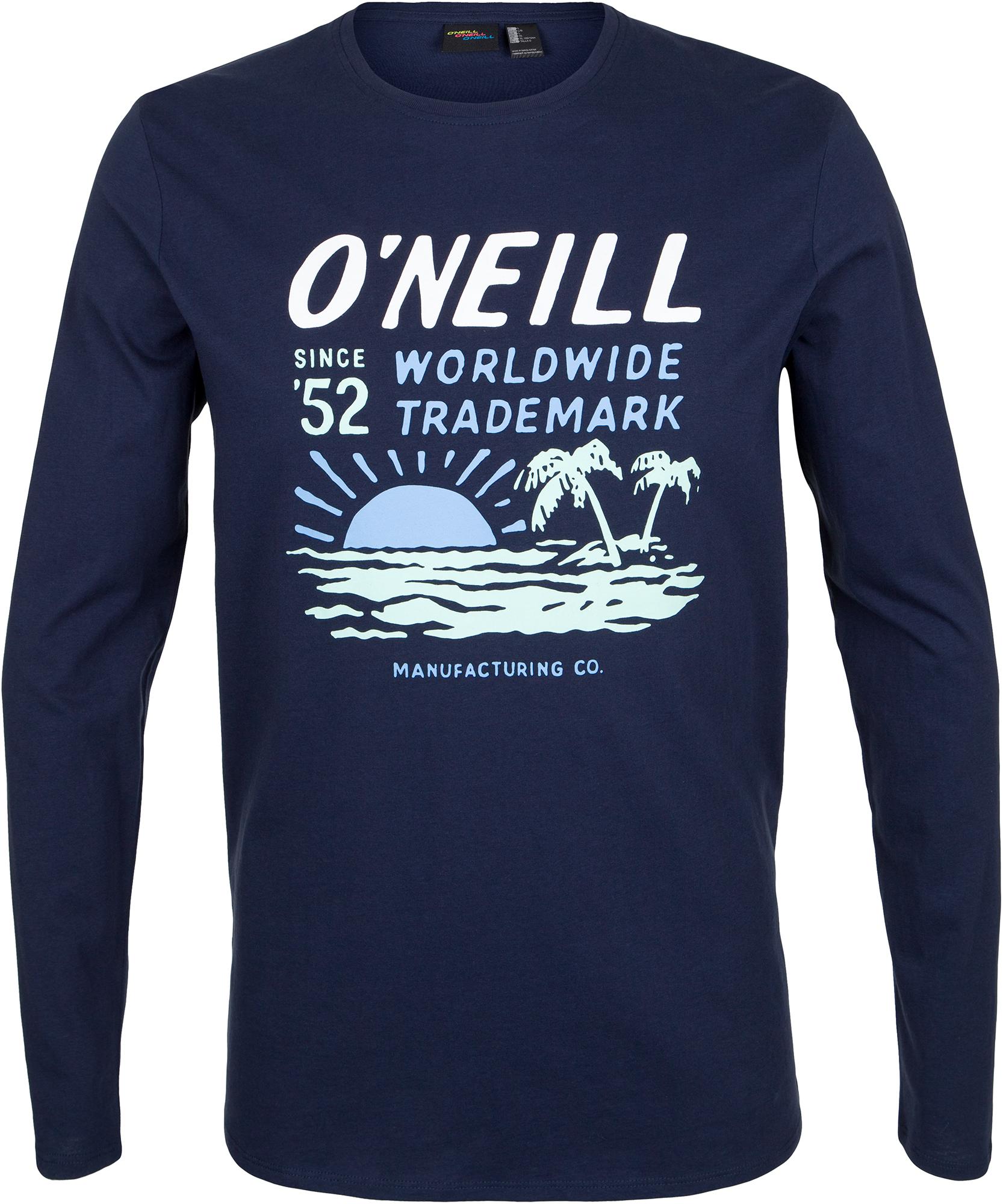 где купить O'Neill Футболка с длинным рукавом мужская O'Neill Lm, размер 50-52 дешево