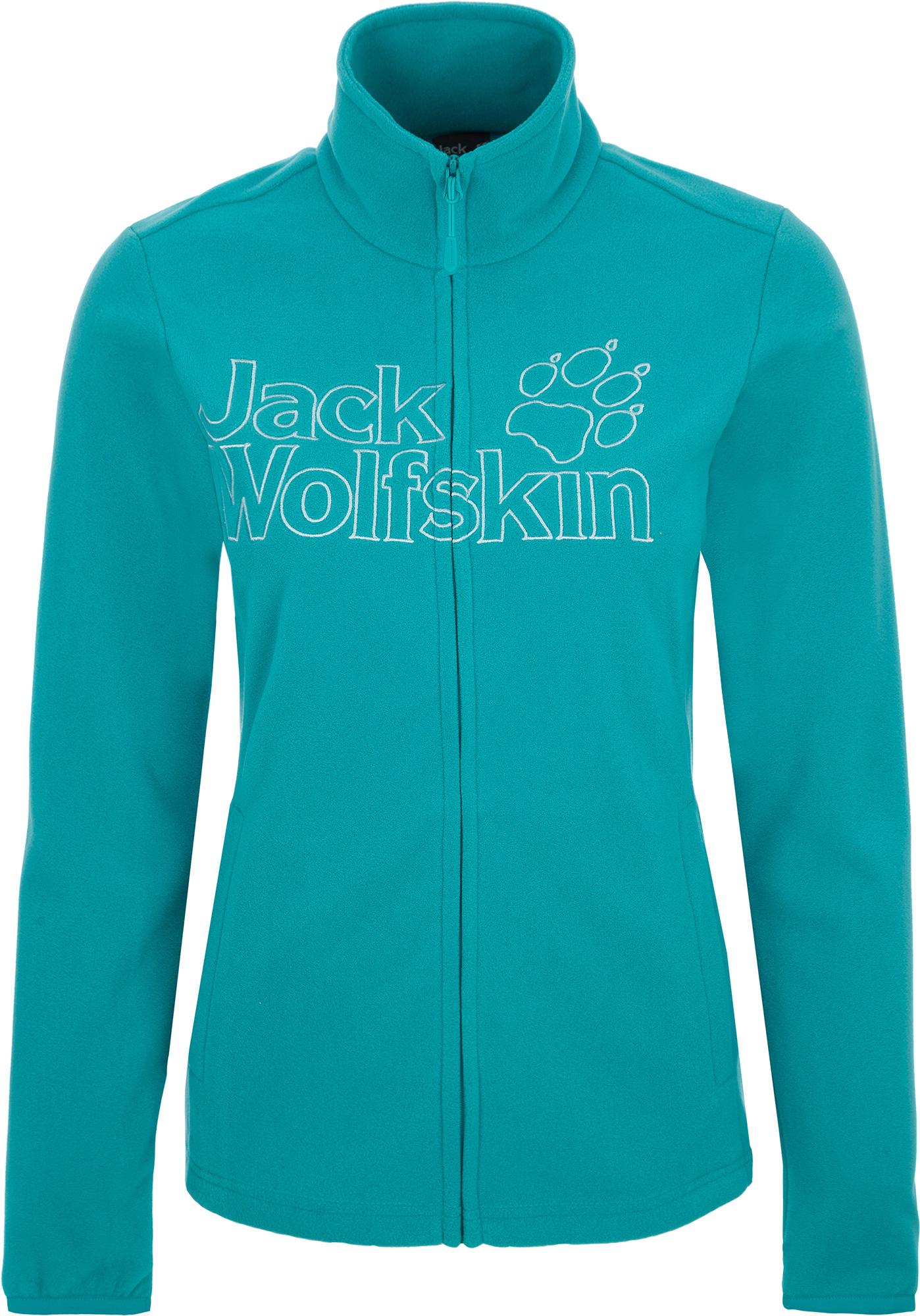 Jack Wolfskin Джемпер флисовый женский JACK WOLFSKIN Zero Waste, размер 42