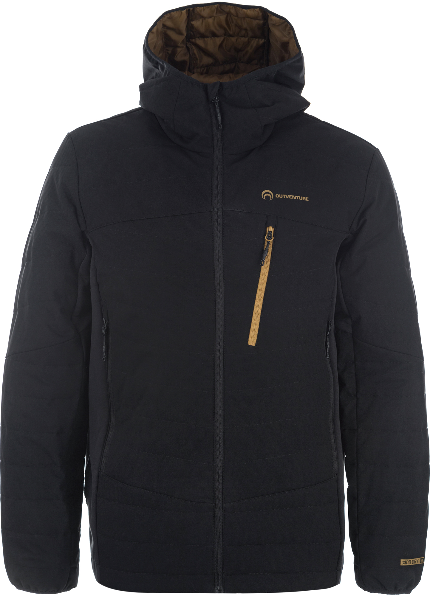 Outventure Куртка утепленная мужская Outventure, размер 50 куртка мужская geox цвет темно синий m8220kt2447f4386 размер 54