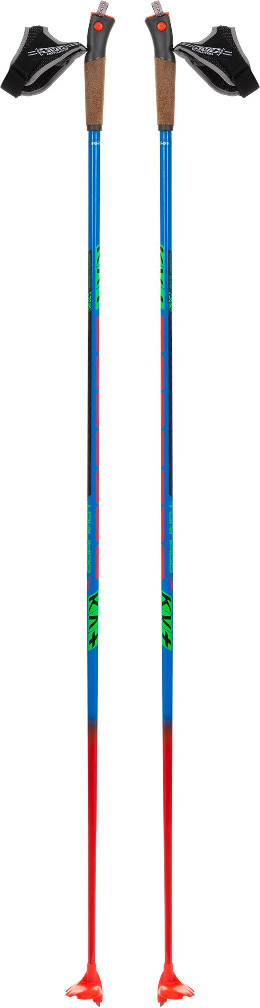 KV+ Палки для беговых лыж детские KV+ Tornado Jr, размер 150 цена