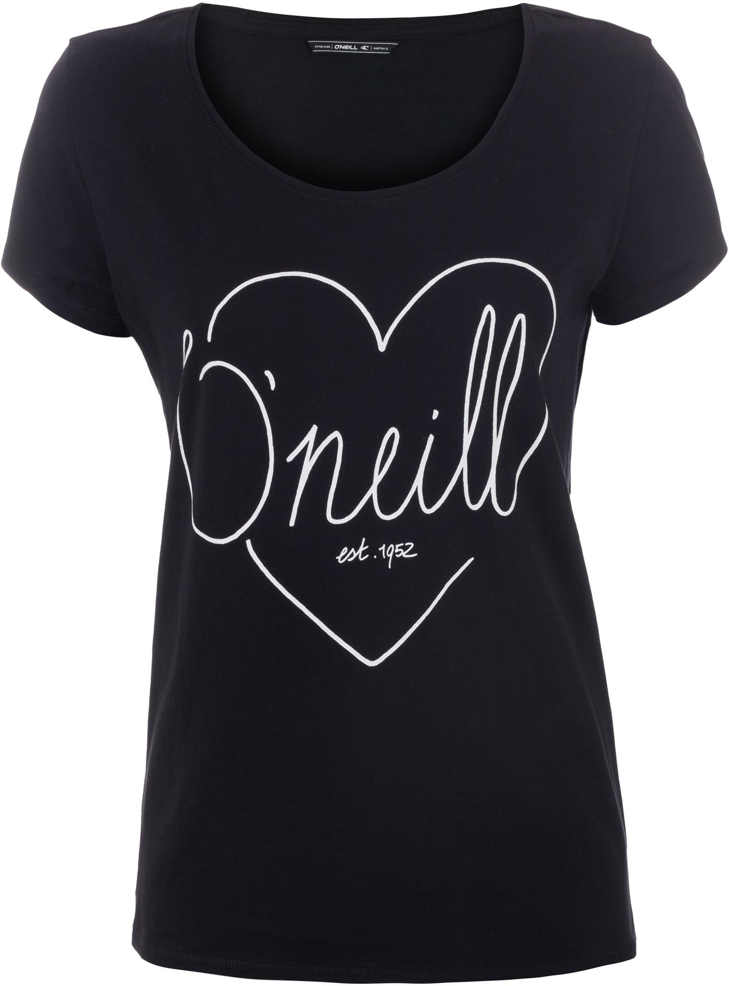 O'Neill Футболка женская O'Neill Heart Graphic o neill майка женская o neill santa cruz garden