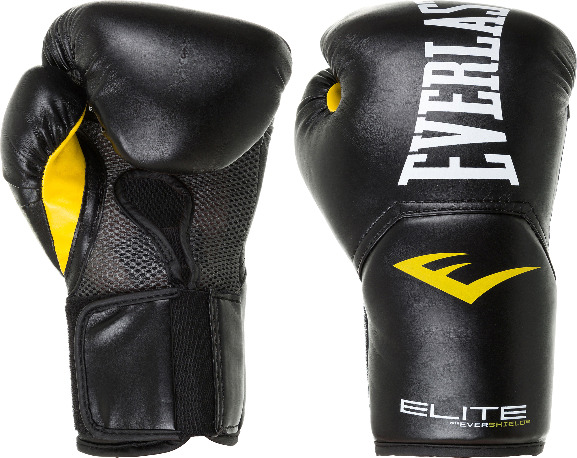 перчатки гелевые с бинтом everlast duster evergel цвет желтый длина бинта 150 см размер s m Everlast Перчатки боксерские Everlast Elite Pro style, размер 8