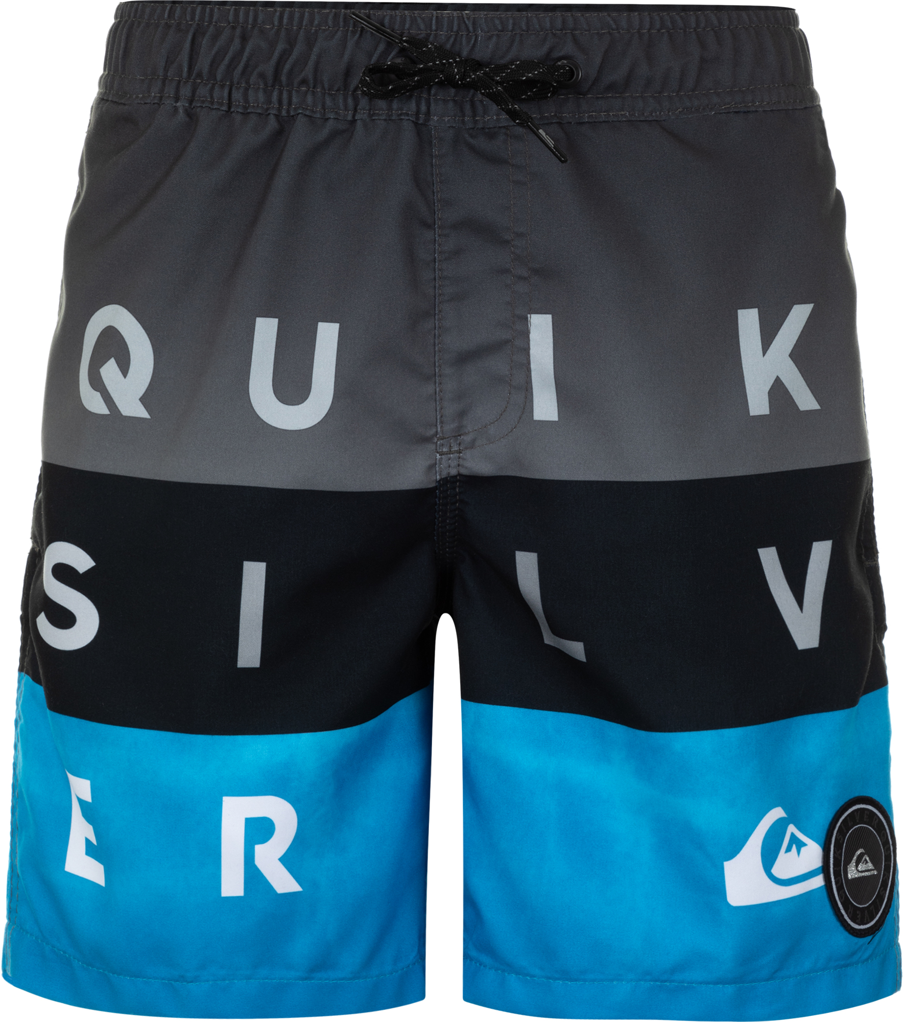 Quiksilver Шорты для мальчиков Quiksilver Word Block Volle Youth 15, размер 164-170 quiksilver штаны прямые детские quiksilver thick wood baby i pant blue salted