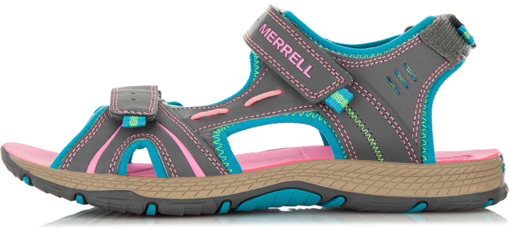 цена Merrell Сандали для девочек Merrell Panther, размер 34,5 онлайн в 2017 году