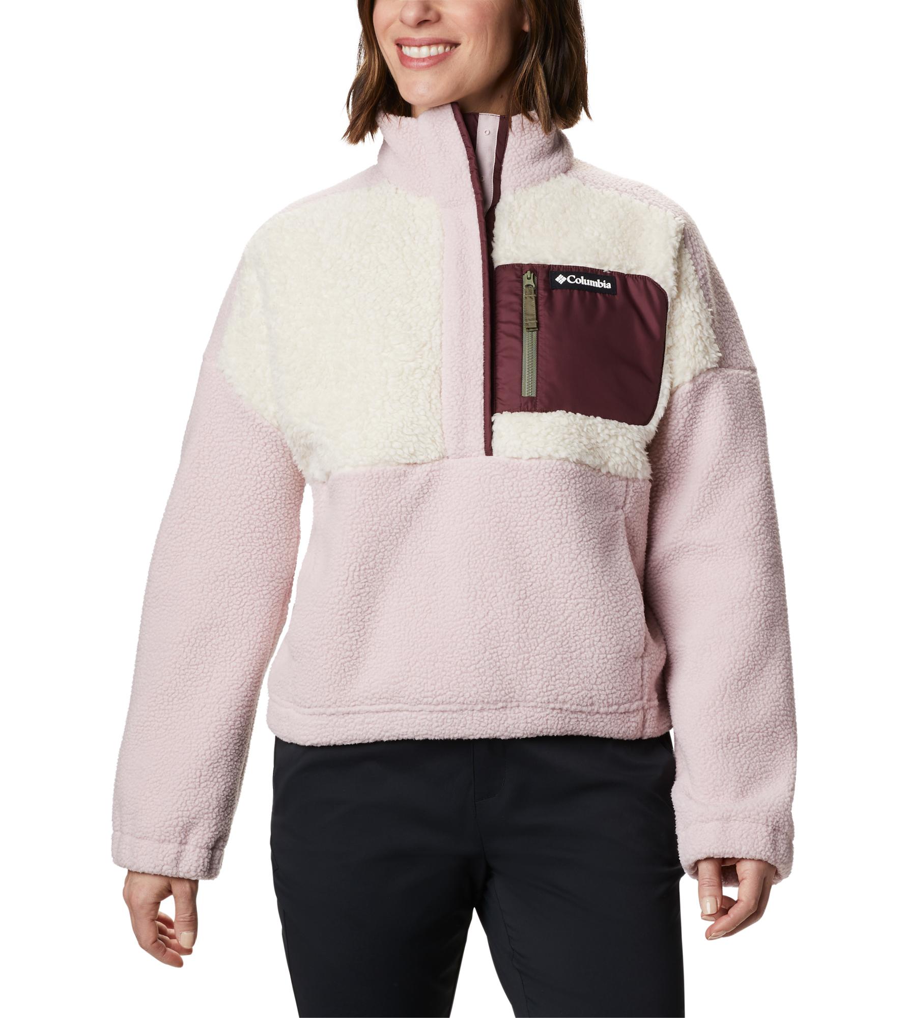 Columbia Джемпер флисовый женский Columbia Lodge™, размер 42 columbia джемпер флисовый женский columbia exploration™ fleece crew размер 44