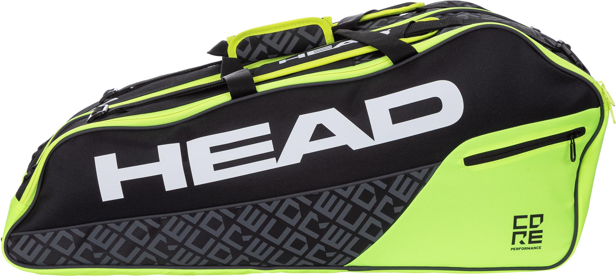 Head Сумка для 6 ракеток Head CORE 6R Combi head сумка head tour team 6r combi