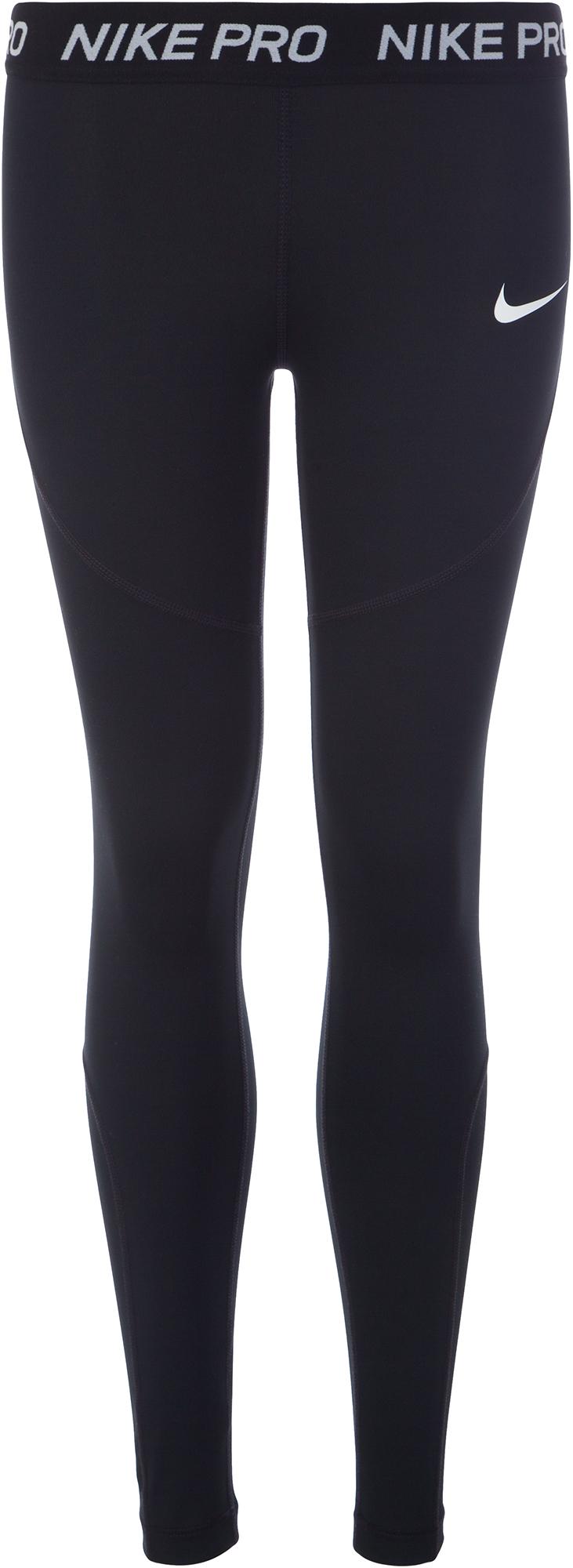 Nike Легинсы для девочек Nike Pro, размер 156-164 одежда для занятий баскетболом nike 005027 11 diy