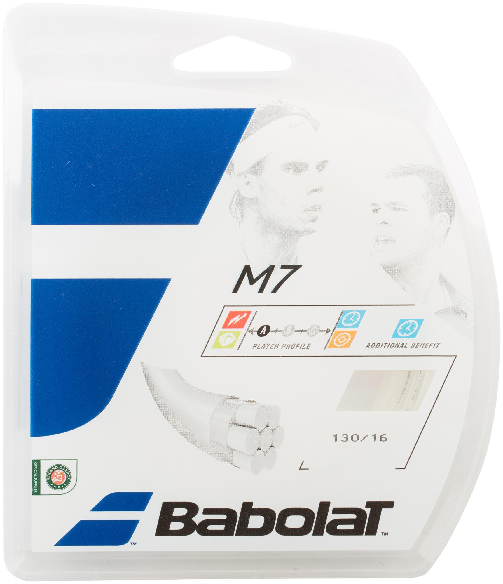 цена Babolat Струна Babolat Multi Long Life TBC, 130/16