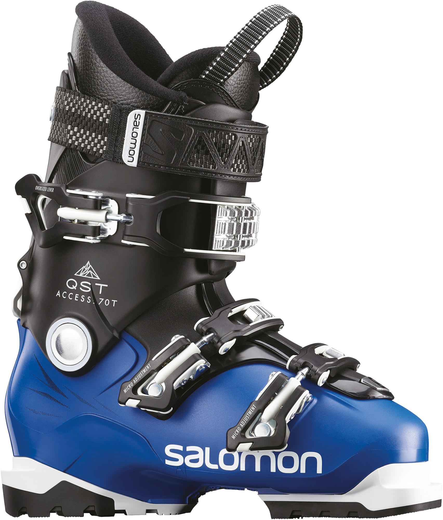 цена Salomon Ботинки горнолыжные детские Salomon QST Access 70 T, размер 39,5 онлайн в 2017 году