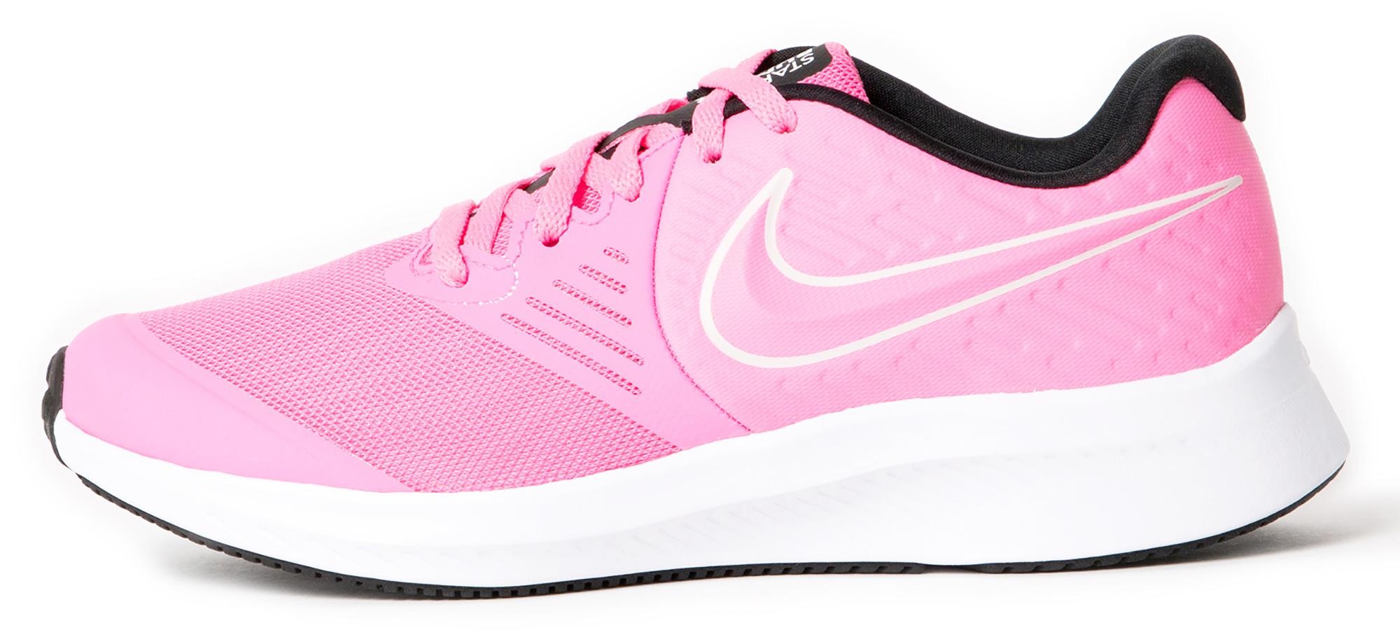 Nike Кроссовки для девочек Nike Star Runner 2 (Gs), размер 36.5 одежда для занятий баскетболом nike 005027 11 diy