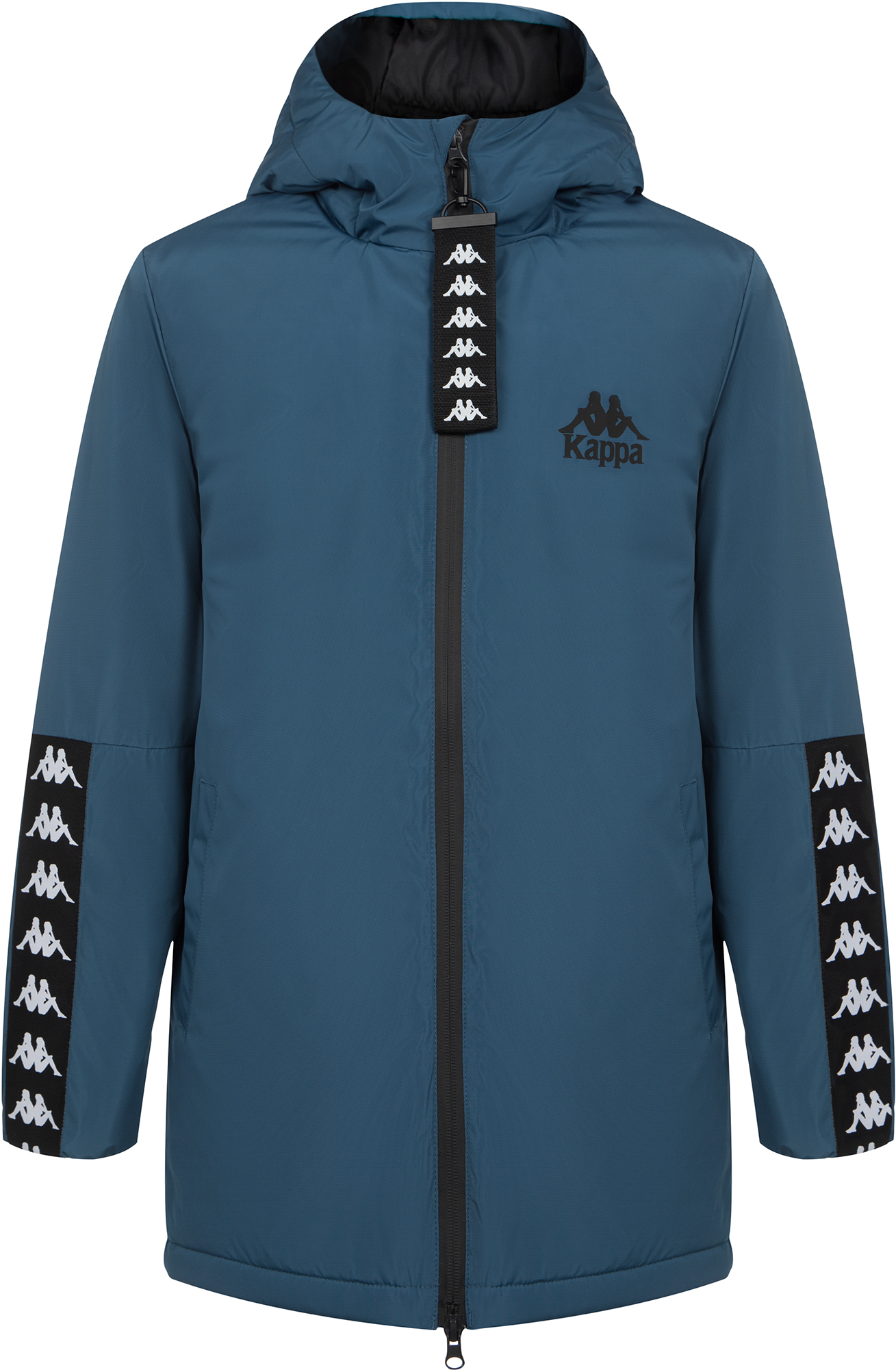 Kappa Куртка утепленная для мальчиков Kappa, размер 176 куртка хольстер утепленная смес ткань 48 50 170 176 лес 2010