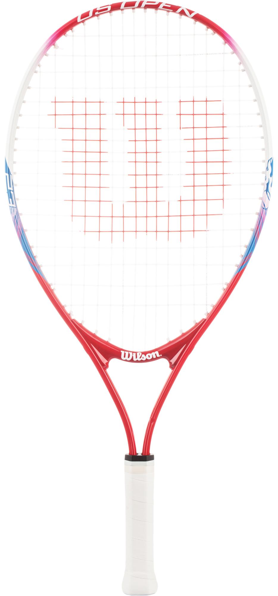 Wilson Ракетка для большого тенниса детская Wilson US Open 23 wilson набор мячей для большого тенниса wilson australian open 3 ball can размер без размера