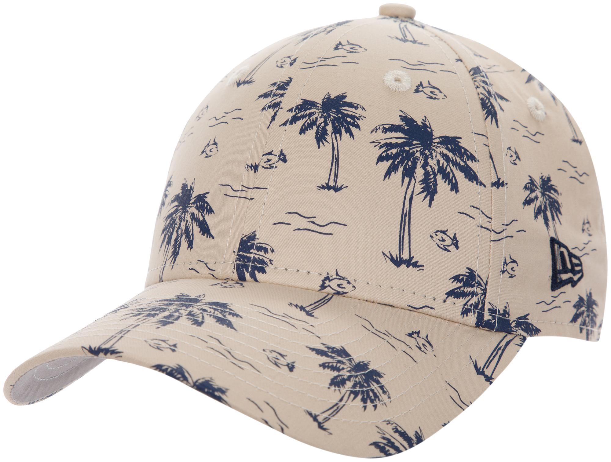 New Era Бейсболка для мальчиков New Era AOP 940, размер 54-55 new era шапка для мальчиков new era ne cuff pom размер 54 55