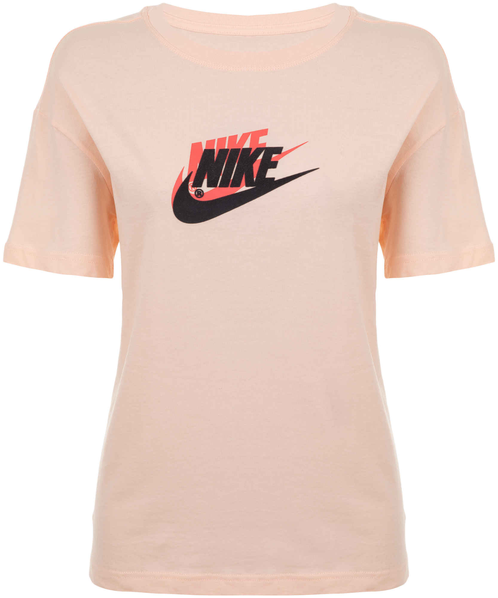 Nike Футболка женская Nike Sportswear, размер 46-48 цены онлайн