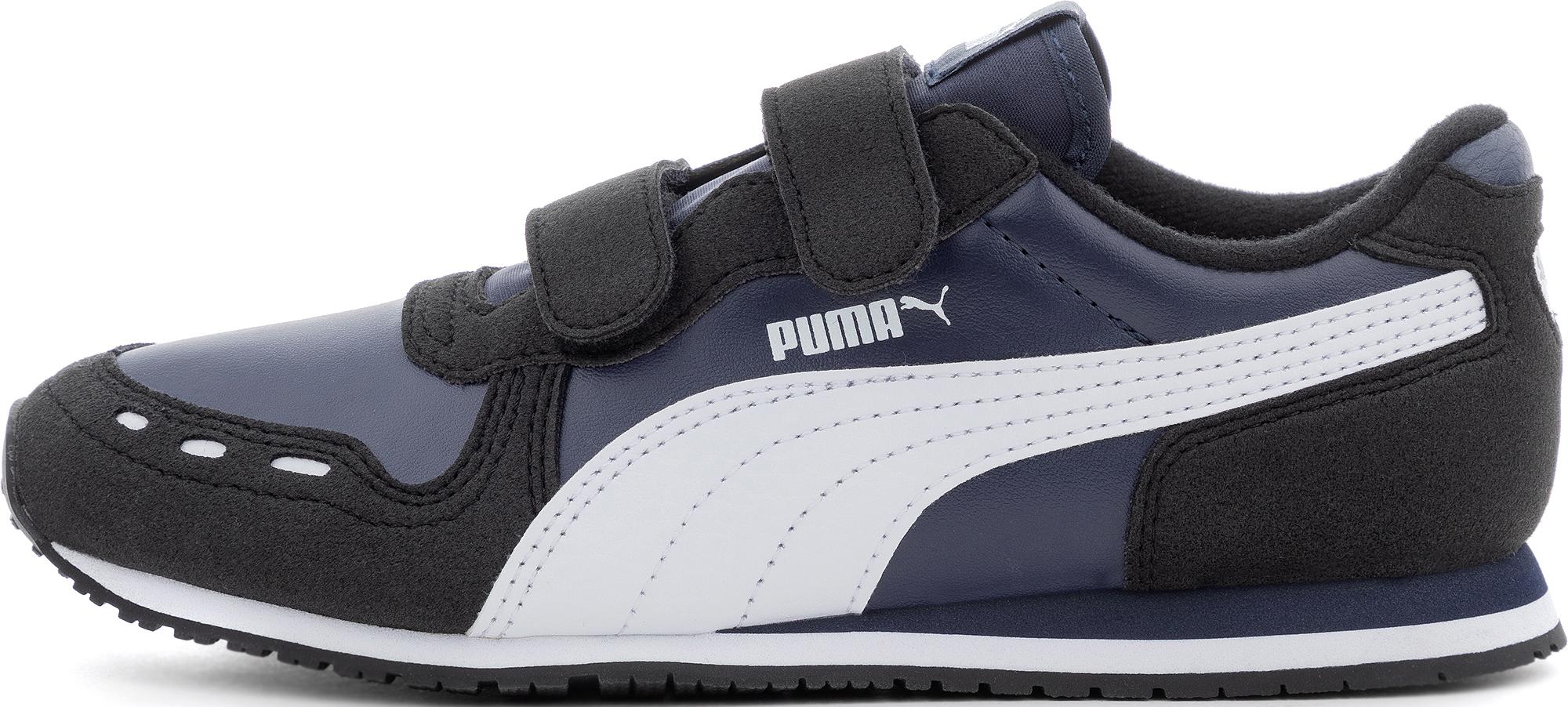 цена Puma Кроссовки для мальчиков Puma Cabana Racer Sl V Ps, размер 34 онлайн в 2017 году