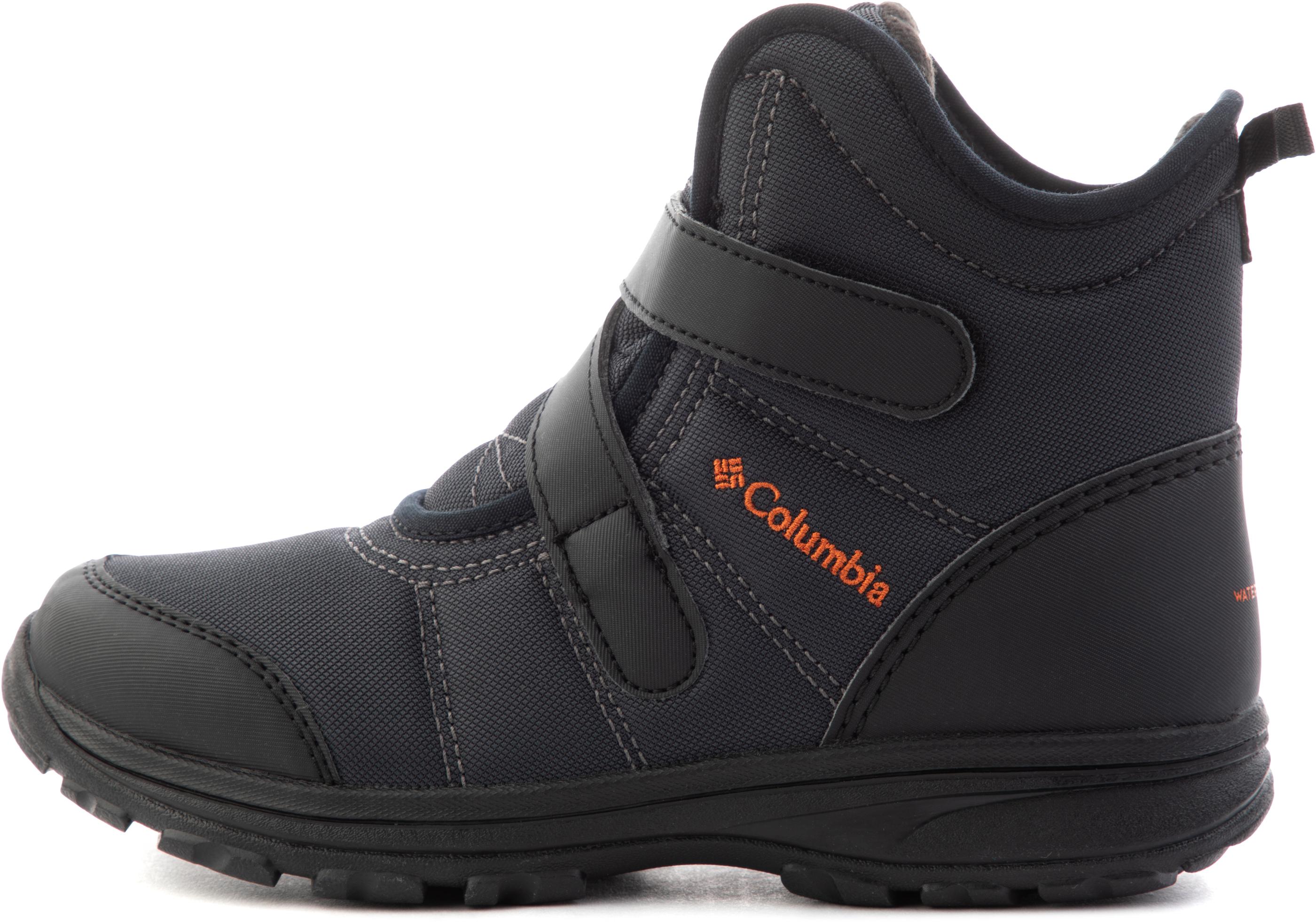 Columbia Ботинки утепленные для мальчиков Youth Fairbanks, размер 39