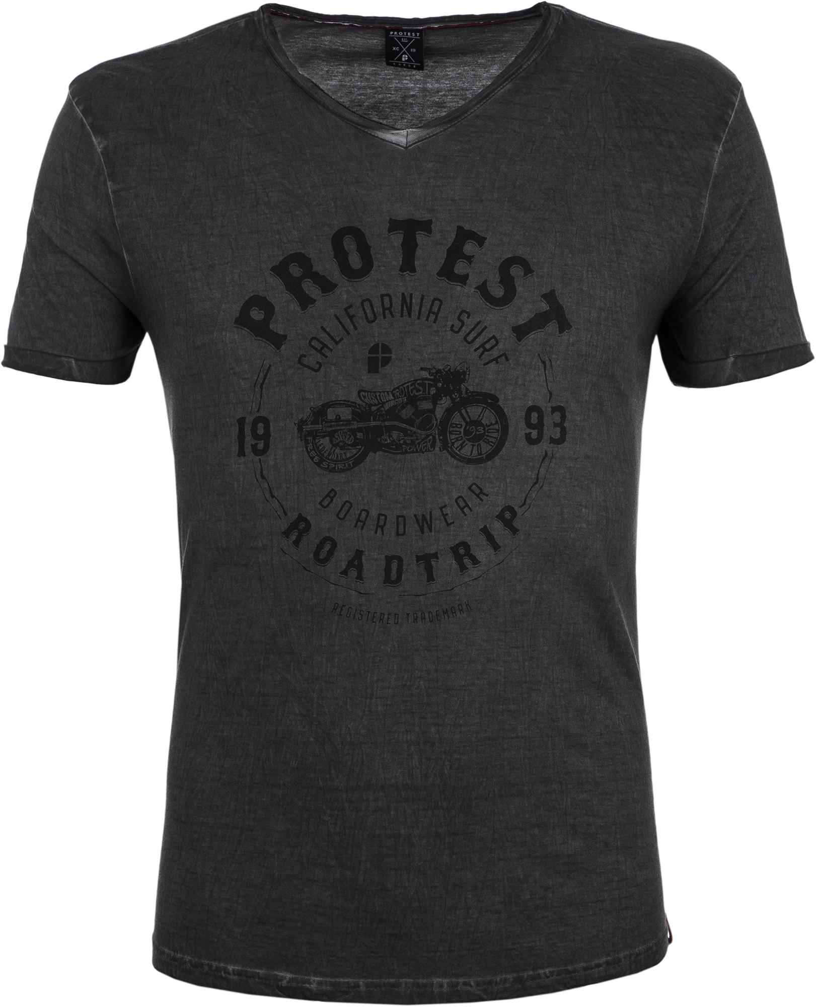 купить Protest Футболка мужская Protest Lew, размер 52-54 по цене 1199 рублей
