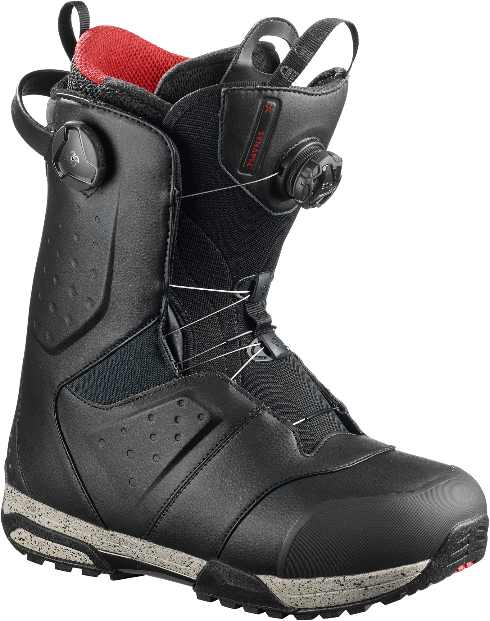все цены на Salomon Сноубордические ботинки Salomon Synapse Focus Boa, размер 42,5 онлайн