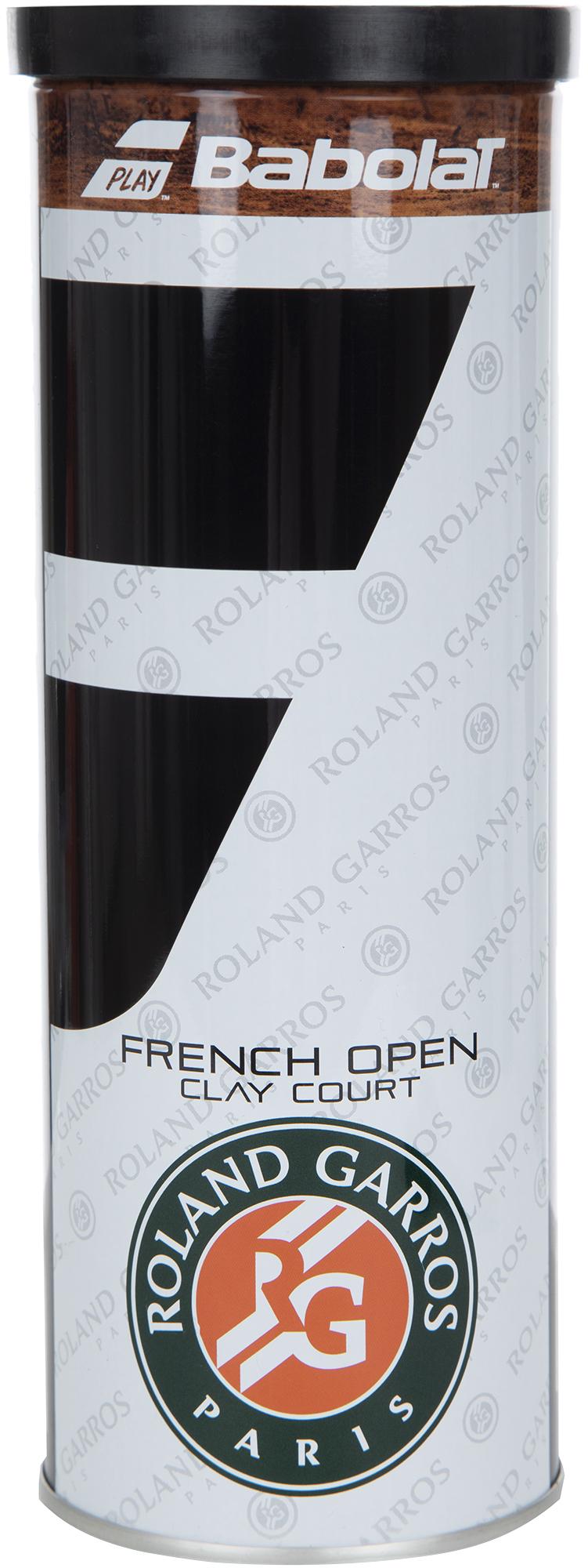 Babolat Набор мячей для большого тенниса Ball French Open X 3