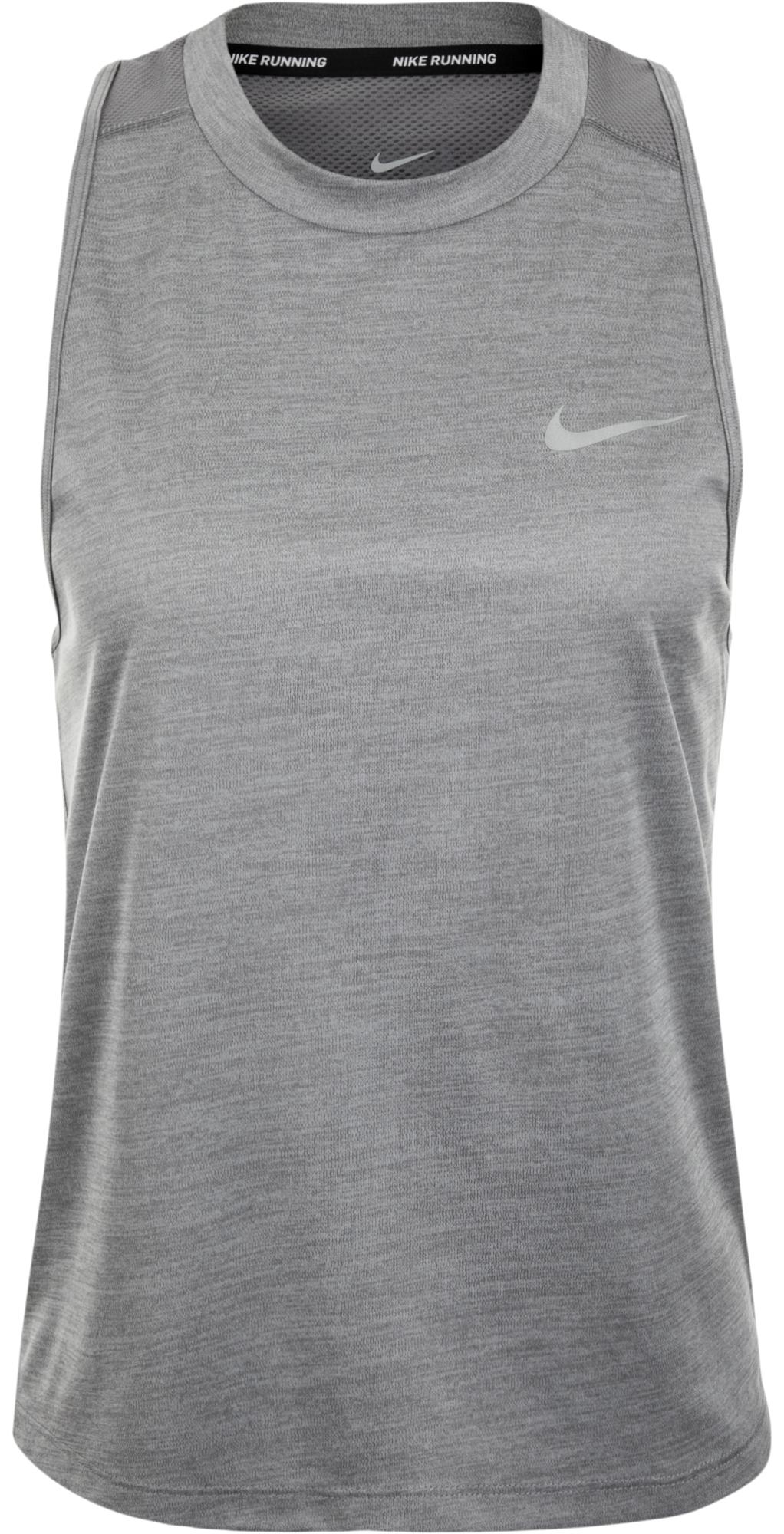 Nike Майка женская Nike Miler, размер 46-48 nike футболка женская nike miler размер 42 44