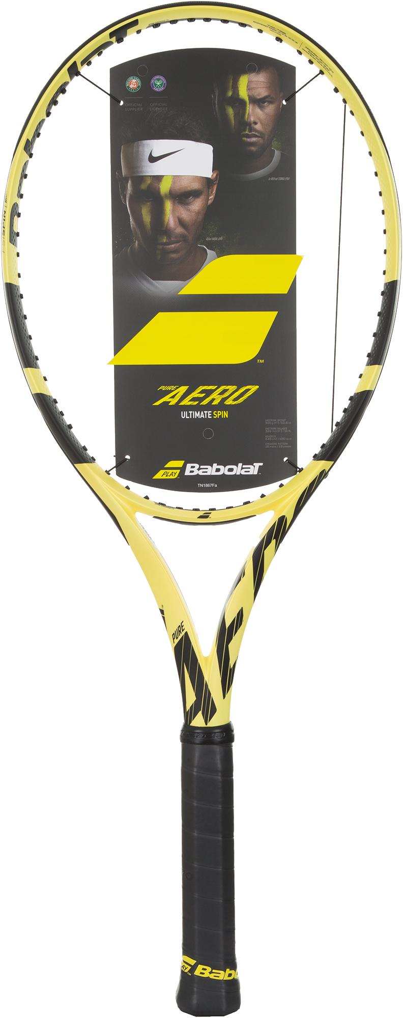 Babolat Ракетка для большого тенниса Babolat Pure Aero babolat ракетка для большого тенниса детская babolat aero junior 25 размер без размера