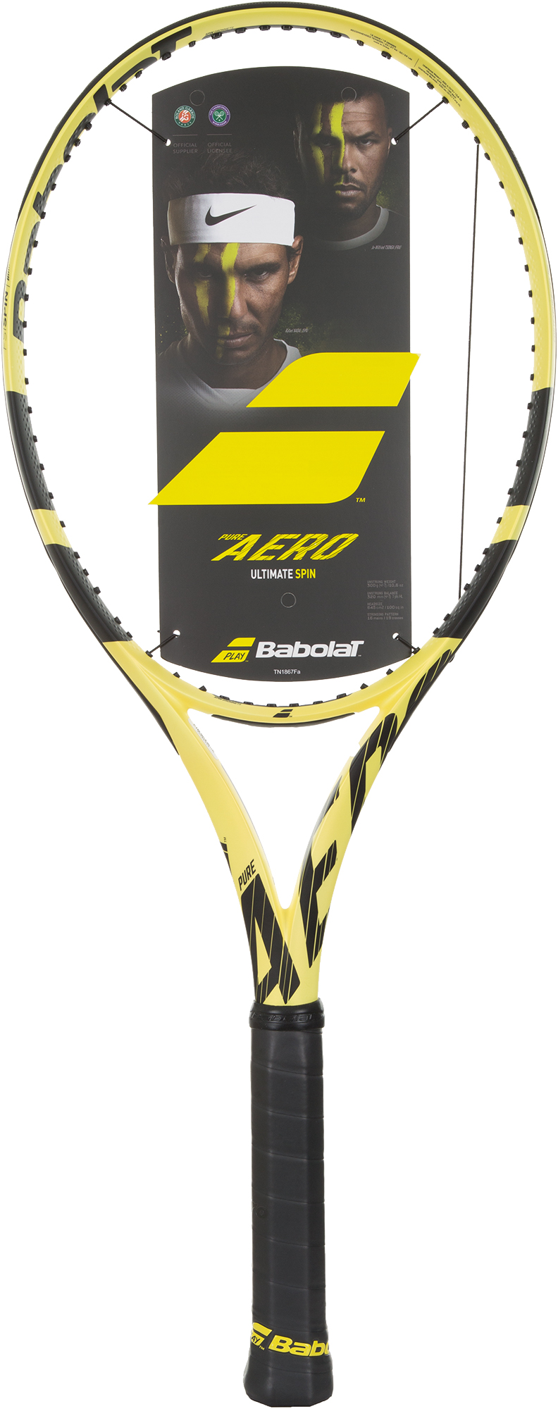 Babolat Ракетка для большого тенниса Babolat Pure Aero, размер 4 babolat ракетка для большого тенниса детская babolat ballfighter 19 размер без размера