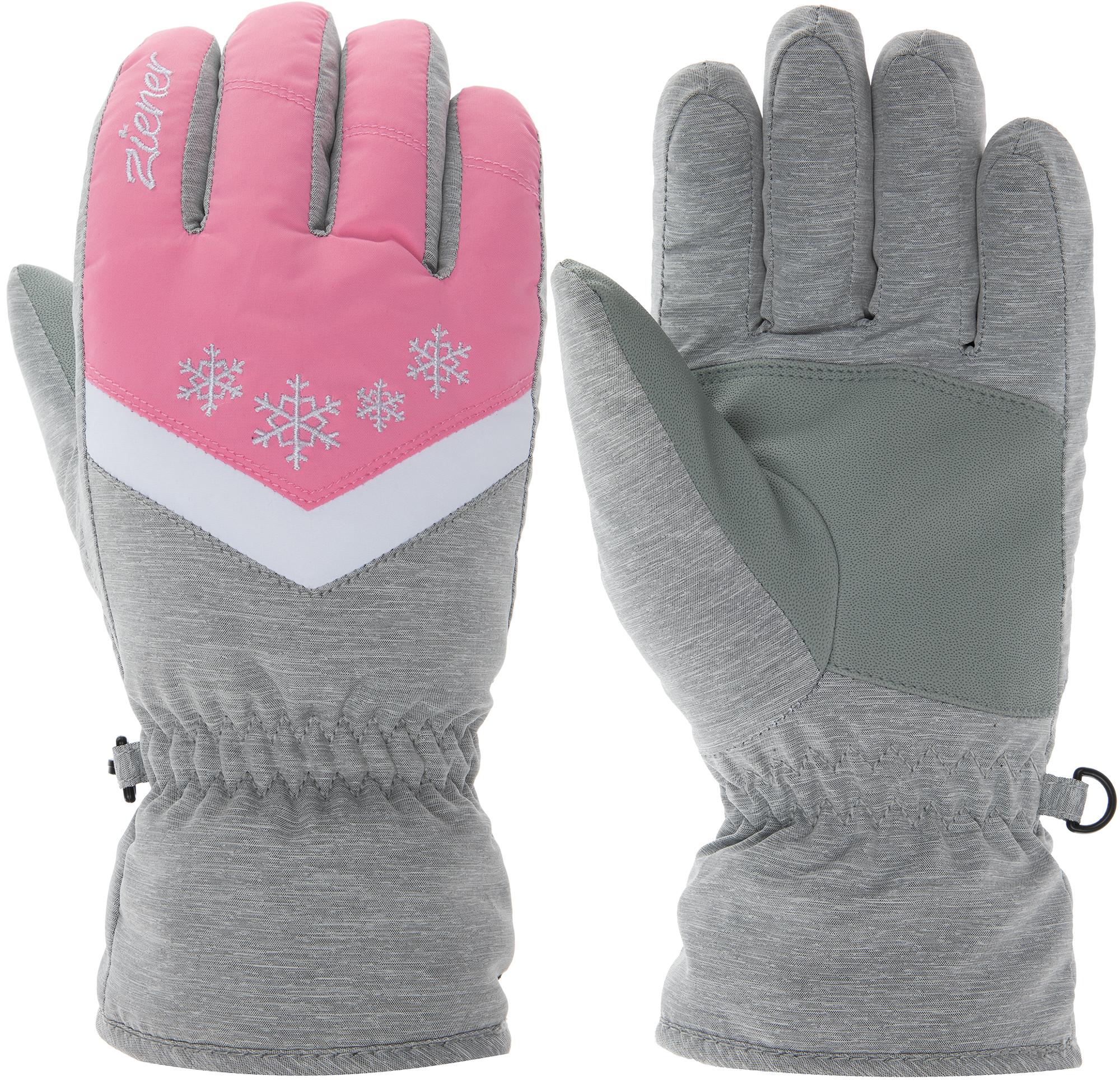 Ziener Перчатки для девочек Ziener, размер 6,5