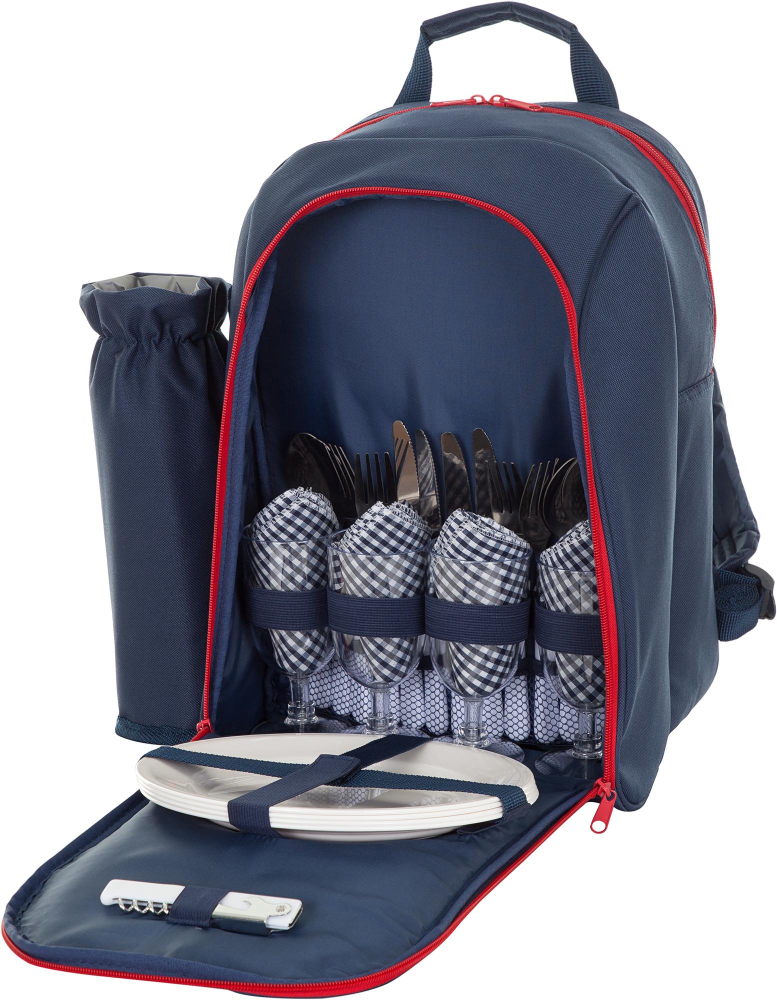 Outventure Пикниковый рюкзак Outventure на 4 человека outventure outventure twin sky 4 basic