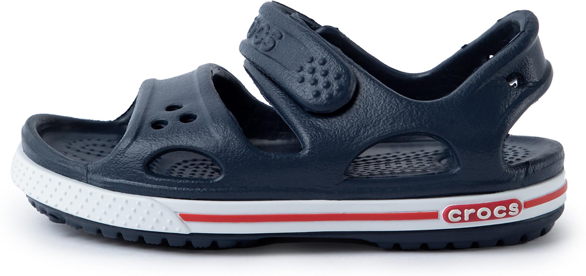 Crocs Сандалии для мальчиков Crocs Crocband II Sandal PS, размер 25 сланцы crocs crocs cr014auarqz1