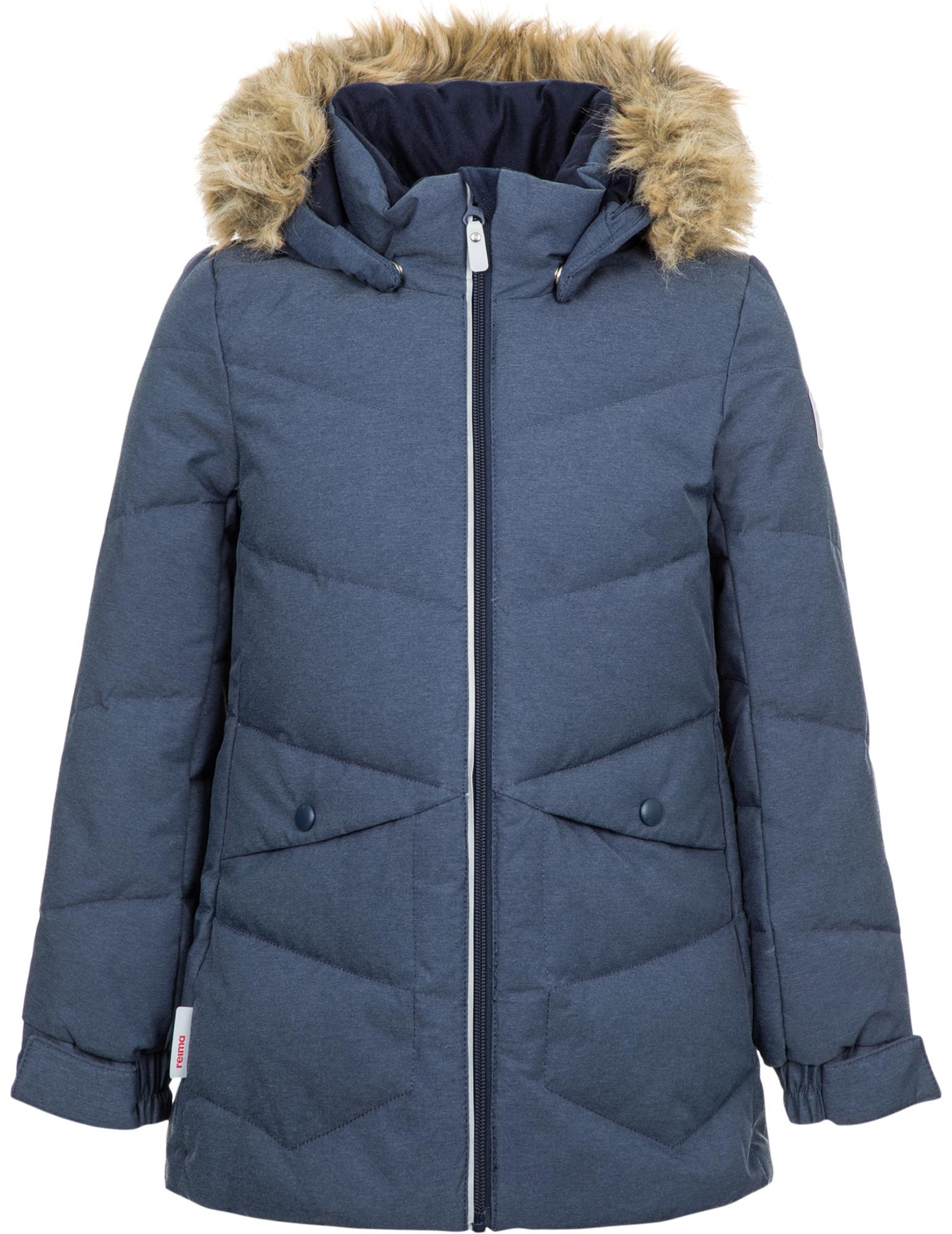 Reima Куртка пуховая для девочек Reima Leena, размер 140 цена