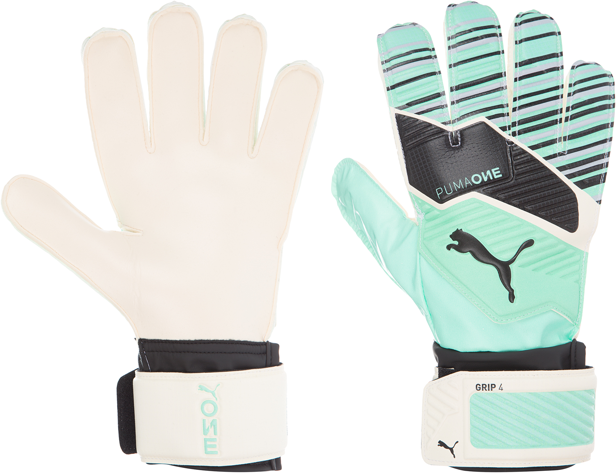 Puma Перчатки вратарские Puma One Grip 4, размер 10