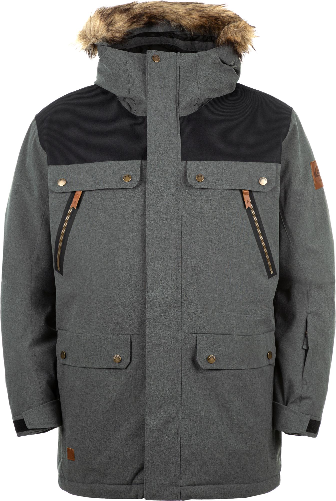 Quiksilver Куртка утепленная мужская Quiksilver Selector Jk, размер 52-54 куртка quiksilver quiksilver qu192emedhx1